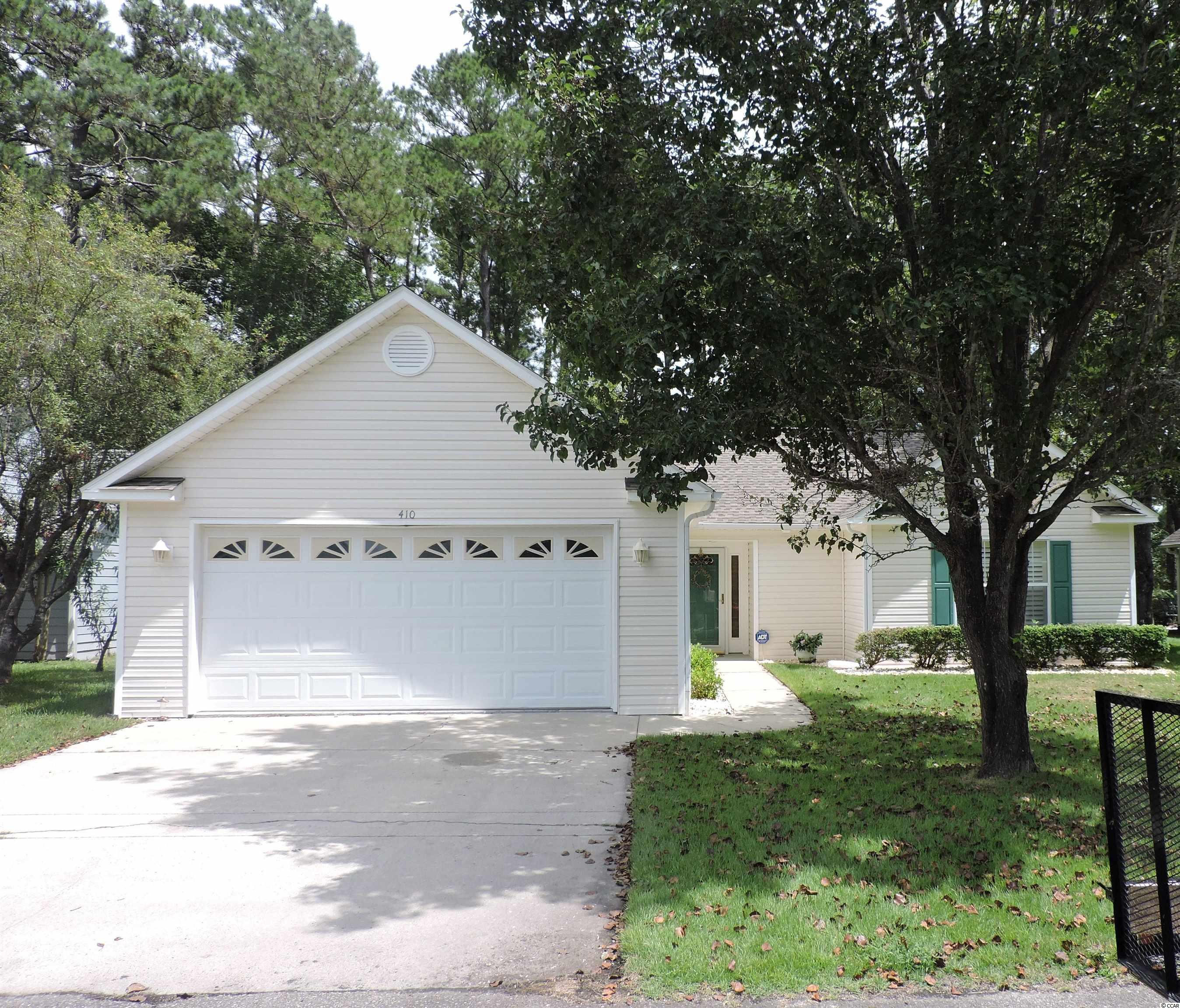 Conveniently located 3 bedroom ranch style home with 2 car garage in The Preserve subdivision off Hwy 9 in Little River, just 10-15 minutes drive to the ocean in North Myrtle Beach. Only one owner since built & has been well maintained.  Nice screened back porch provides views of manicured lawn and wooded area in back of home. Low homeowners fee per year. Community pool. Medical facilities and grocery, pharmacies, restaurants, pet hospital, and other needed services nearby. Make appointment to view this home soon in desired affordable price point as it will not be available on the market for long!