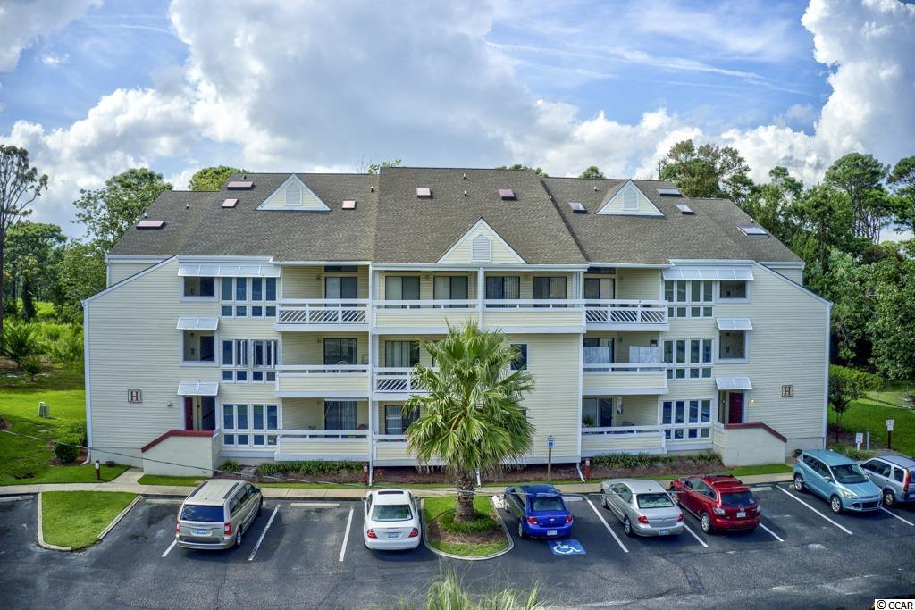 Awesome location away from all the commotion at the beach. This unit is conveniently located, near Hwy 17 which is the main road north to south along the Myrtle Beach area, to medical facilities, golf, dining, entertainment, shopping, and the sandy beaches of the Atlantic Ocean are not far away. Amenities include an outdoor pool, grill area, and tennis courts, owners are allowed pets, & owners are allowed GOLF CARTS.   Perfect for riding your Golf cart to the Waterway, Beach & Barefoot Landing. Take in a ball game at the baseball fields, swim in the community pool. Perfect for a second home or income producer. Only one currently on the market. Schedule a showing today!