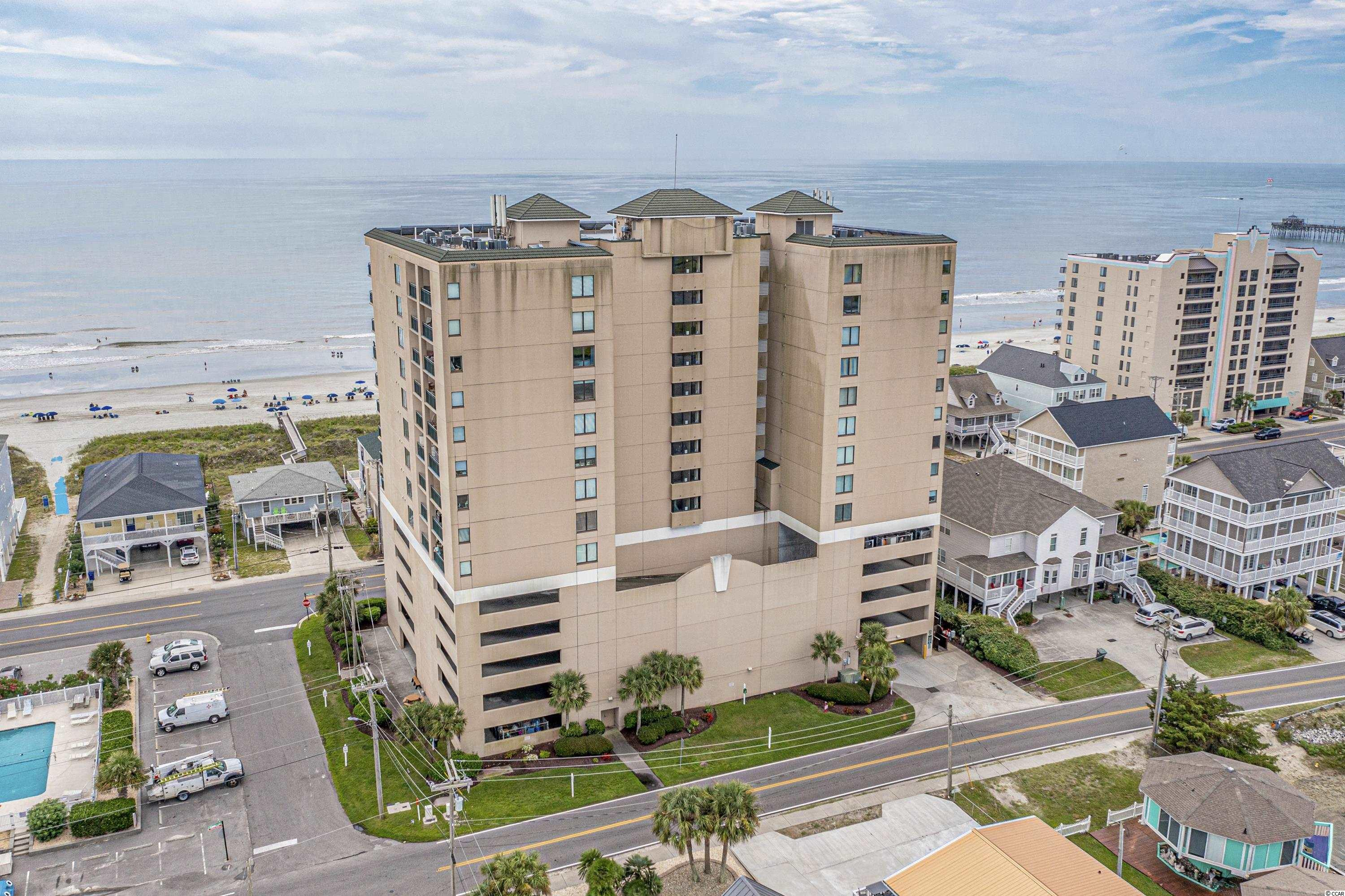 Check out the beautiful marsh and ocean views in this two bedroom, two bathroom condo in Beachwalk Villas! This spacious end unit has a full wall of windows and sliders with incredible views. This fully furnished unit has been well taken care of and waiting for you! No need to worry about parking with 5 levels of parking deck below the building. Beachwalk Villas features their oceanfront amenity center with indoor/outdoor pools, exercise room, game room and private owners floor. Don't miss out on everything this beautiful Beachwalk Villas unit has to offer!