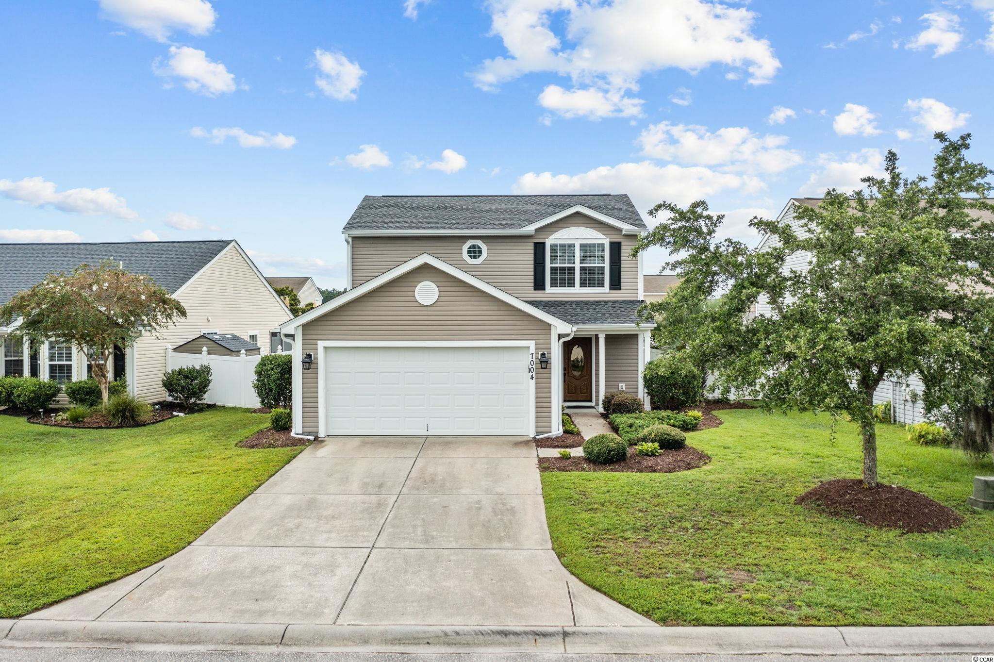 Immaculate three-bedroom two-and-a-half-bathroom home in Avalon in Carolina Forest. This well-maintained home comes with a new roof, HVAC system, and hot water heater that was just installed in 2020. This home also includes upgrades such as engineered hardwood floors throughout the living area downstairs and all the bedrooms upstairs as well as stainless-steel appliances in the kitchen area. The property comes with an irrigation system too. The Avalon community has plenty of amenities which include a pool, soccer field, playground, basketball courts, baseball field, and picnic area. This is a must-see home. Make an appointment to view this home today!