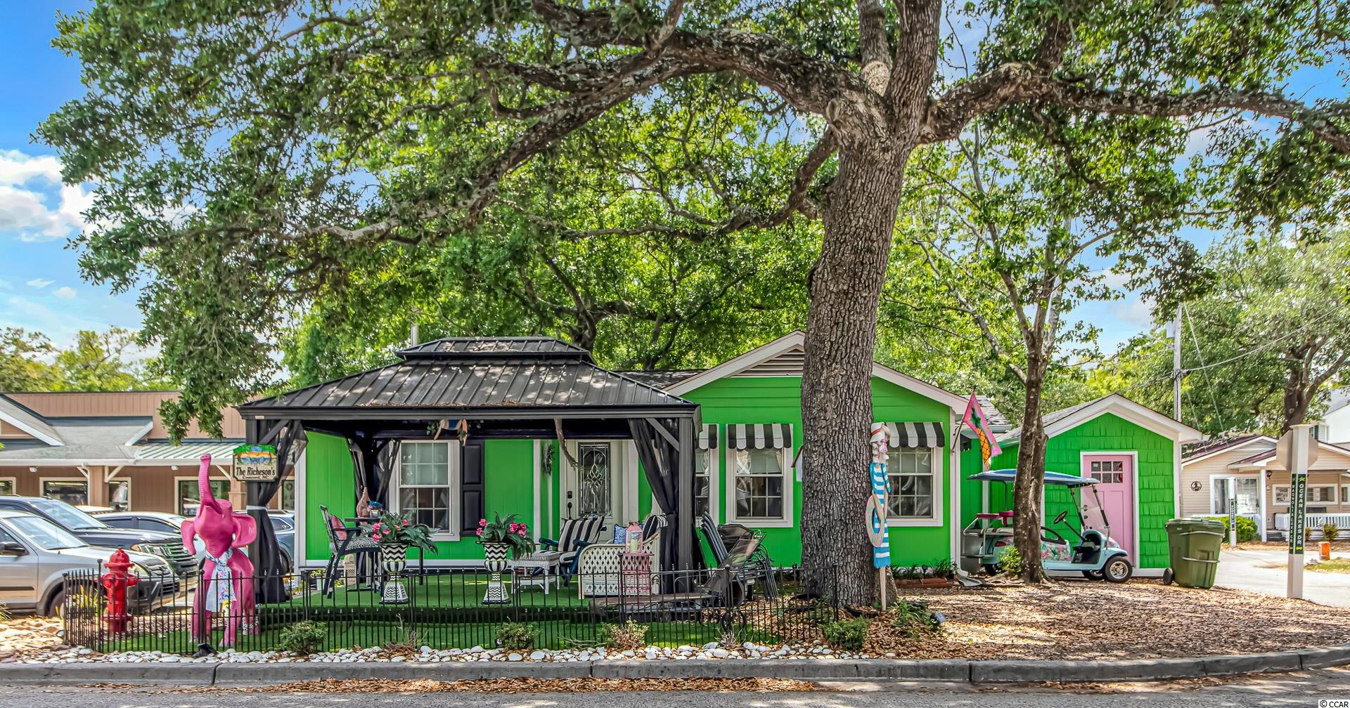 The Lily Pad:  3BR & 2BA with great outdoor Gazebo for sitting & watching the people go by.  Hop & skip to the store, Water park a stones throw, & last but not least a short stroll to the Beach.  Your time to own a Class beach home that everyone will know.