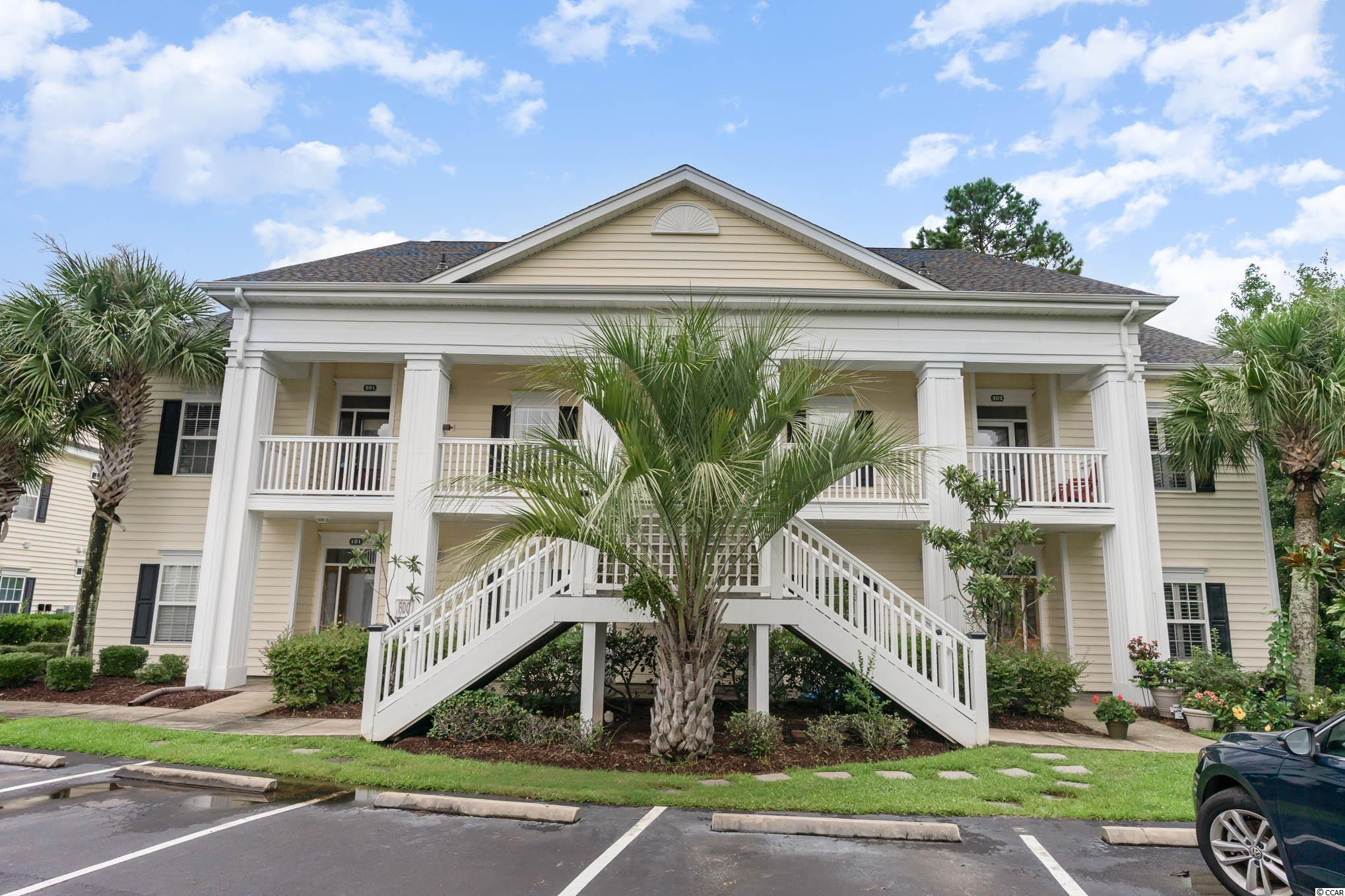 This stunning condo in the Villas just hit the market in Murrells Inlet! Located in the highly-coveted neighborhood of the International Club, this beautiful home features 4 bedrooms, 3 bathrooms and 2,374 heated square feet of living space! This mostly furnished unit has two floors of living space with 3 bedrooms on the main floor and a full bedroom, loft, and bathroom on the second level. The beautifully decorated home features vaulted and trey ceilings throughout, granite countertops and stainless appliances in the kitchen. This home also boasts a wonderful outdoor screened in patio, great for entertaining or a relaxing in the evening with a good book. Overlooking the pond with a lighted fountain tops off the experience! Square footage is approximate and not guaranteed. Buyer is responsible for verification.