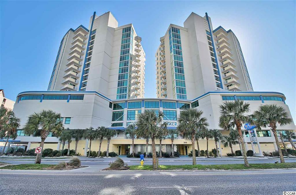 """Don't miss this beauty, run don't walk to see this unit.  This is the larger one bedroom, ocean views and boulevard views of North Myrtle Beaches famous Ocean Drive section.  Three balconies.  Living room has wall of windows and a large balcony with awesome ocean views.  You can hear the waves crashing in.  Spacious bathroom with garden tub.  Excellent rental history.  This is truly a """"gem"""" at the beach."""