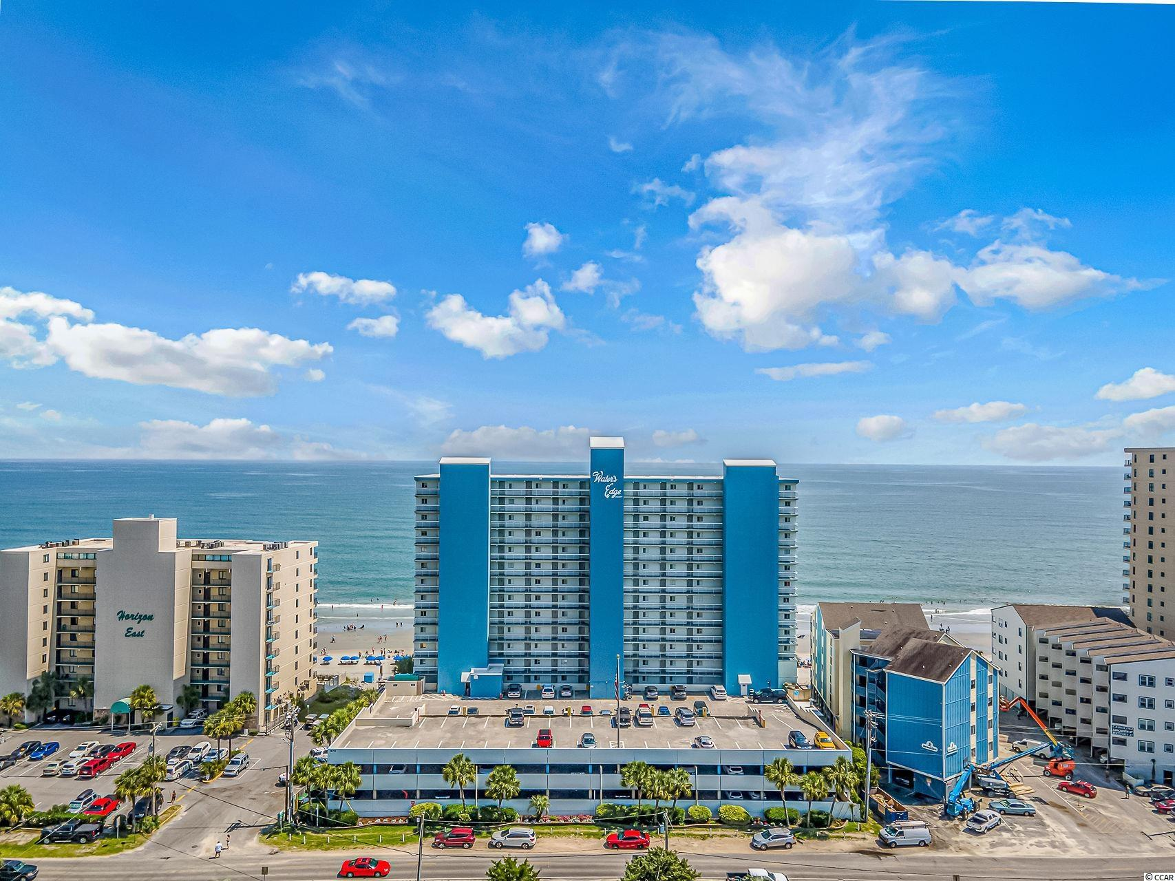 Own a piece of paradise with this 3 bedroom, 2.5 bath oceanfront condo available in the Water's Edge building in Garden City. Enjoy the oceanfront views from the balconies located off the living room and master bedroom! This condo has all the space you need and comes fully furnished - just pack your personal items and move right in! The full kitchen features plenty of cabinet and counter space, with a work island, tiled backsplash, and breakfast bar. 3 bedrooms allows for plenty of room for guests to come visit. Water's Edge resort is just steps from the beautiful Atlantic Ocean, and has plenty of amenities including multiple swimming pools, hot tub, pool deck, fitness center and a convenience store, and cafe. Besides having direct access to the beach, Water's Edge is also located near plenty of shopping, dining and entertainment options. This would make a great primary residence, 2nd home or investment opportunity. Measurements are not guaranteed and are the buyer's responsibility to verify.