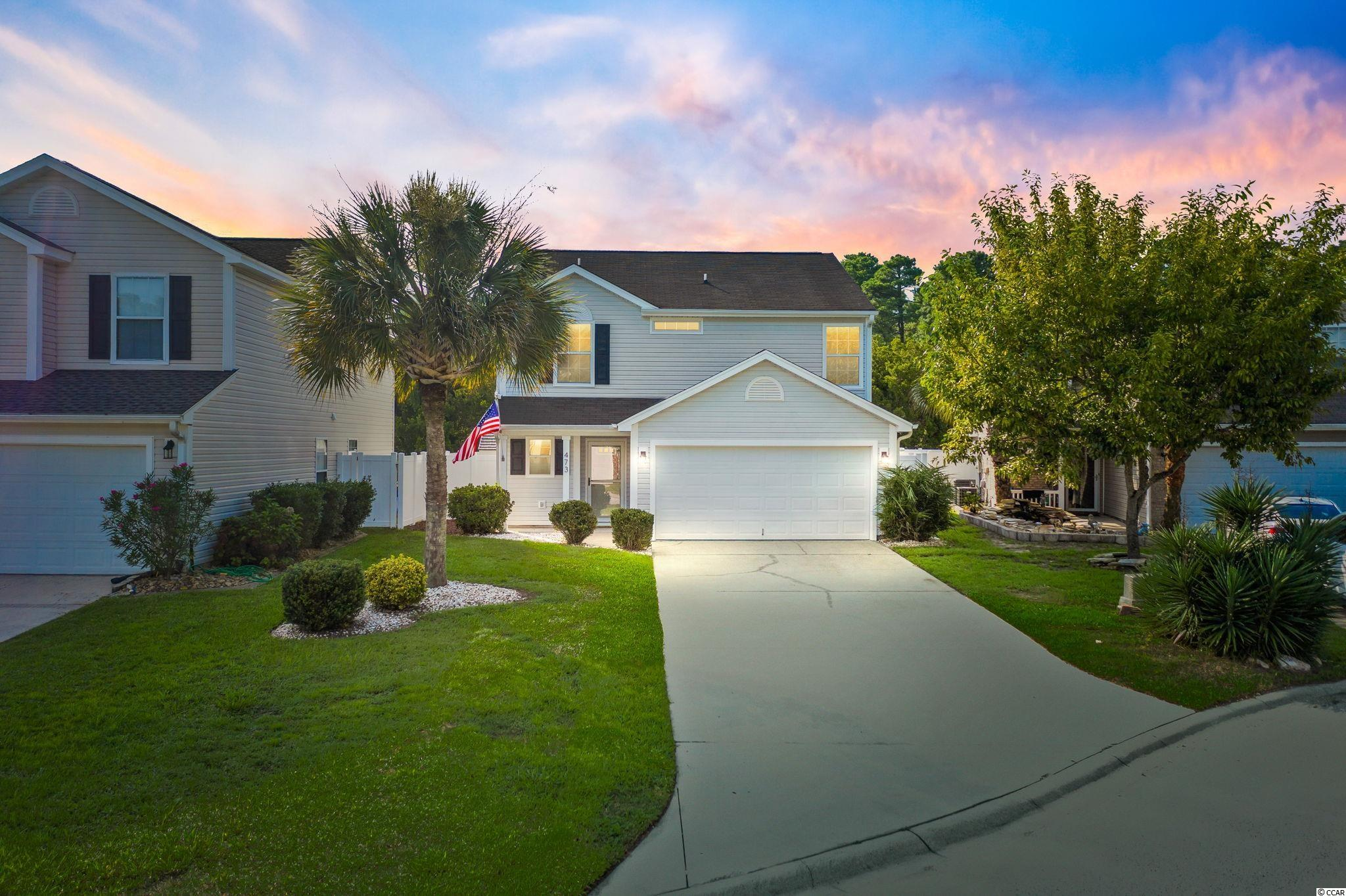 Look no further! This turn key 3 bedroom 2.5 bath home is situated on a cul-de-sac in the highly sought after community of Avalon in Carolina Forest.  The main level features LVP flooring throughout and a fully updated kitchen with new white cabinets, granite countertops, stainless steel appliances, and a large pantry.  The second floor has brand new carpet and the master bedroom with a walk-in closet and en suite bathroom.  Two additional spacious bedrooms, full bathroom, bonus loft area, and laundry are also located upstairs.  The peaceful backyard is fully fenced with an extended patio and is perfect for relaxing or entertaining.  Being in Avalon, not only do you have access to an amazing community pool, club house, playground, grilling station, and picnic area but you are also in a spectacular location. You are only minutes to the beach, shopping, restaurants, and so much more.  Schedule your showing today because this house will not last long!