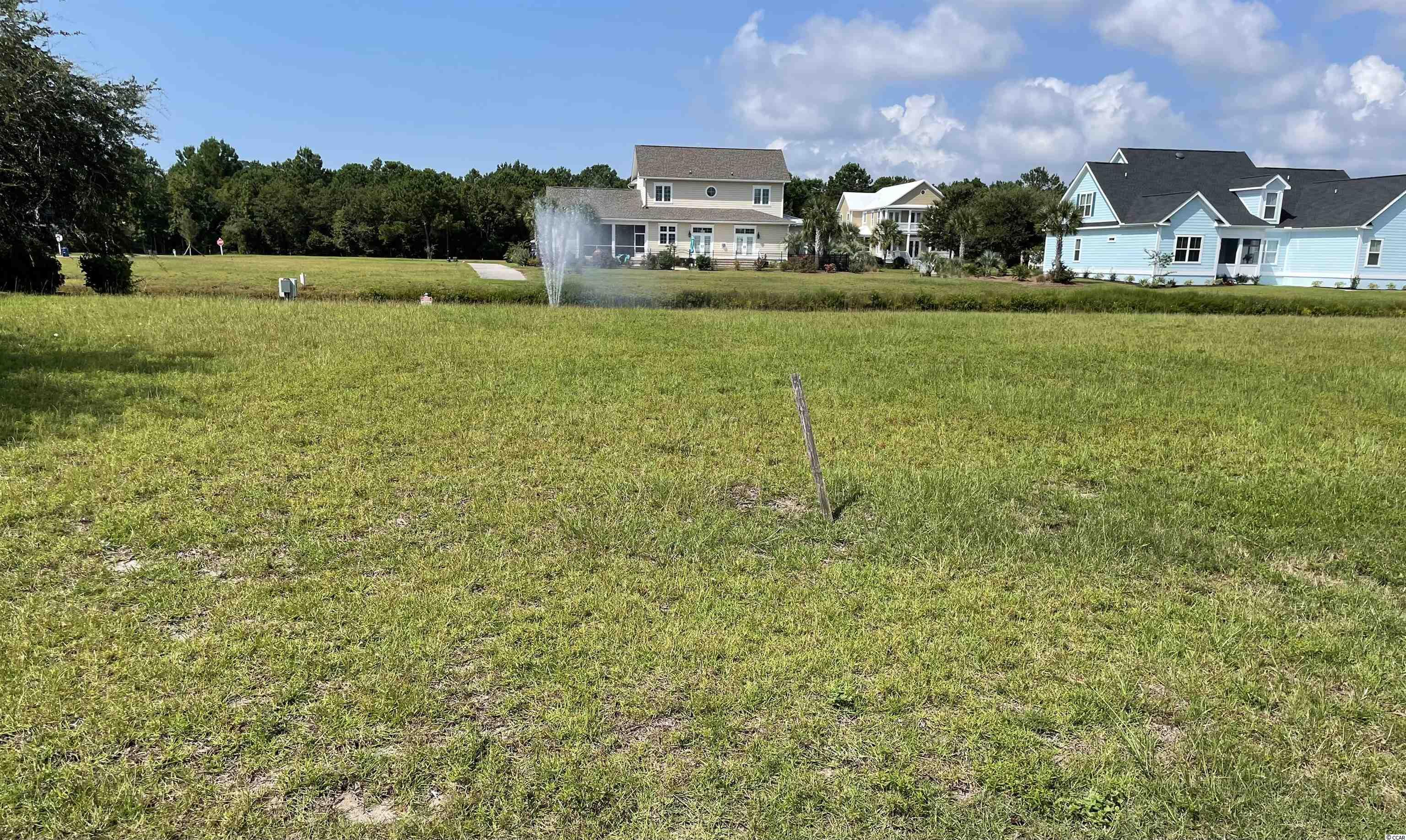 Nicest Ready to Build Corner Lot currently available on the water in the Charleston Landing Community of North Myrtle Beach. More information available on www.charlestonlandinghoa.com. No timetable to construct your Charleston style home by your choice of builder.
