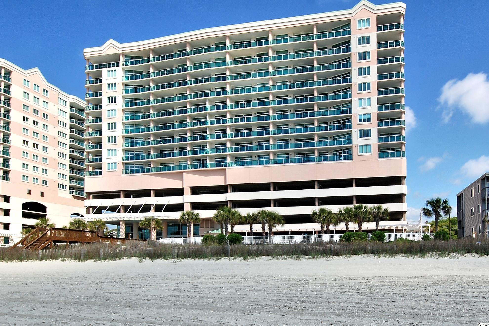 Spectacular direct Oceanfront two bedroom, two bath condo with an expansive ocean balcony to beautiful ocean sites and sounds. It has been upgraded and very well taken care of and is not on a rental program. Crescent Keyes is a desirable building with outstanding amenities: indoor heated pool, oceanfront outdoor pool, lazy river, kiddie pool, hot tub and a large exercise room that overlooks the beautiful Atlantic Ocean. This condo is beautifully decorated and freshly painted. New airconditioning/heat unit 2021. New furniture and stainless appliances and a new washer and dryer. It has wireless internet, your own seperate storage closet and onsite parking under the building. This condo is a great primary, second home, rental investment property! Hurry.