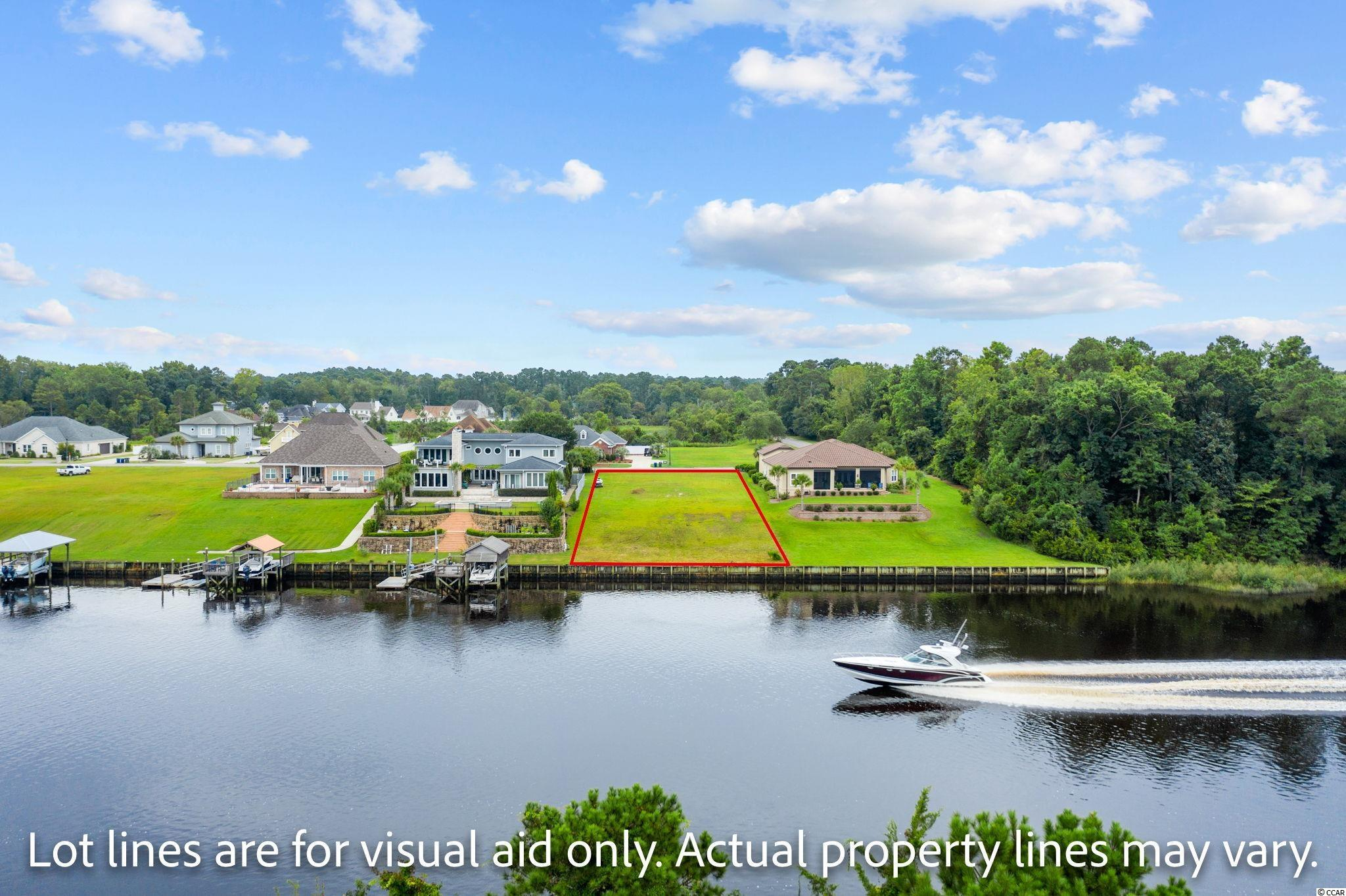 Nestled in the heart of North Myrtle Beach is the location of your future dream home! Incredible opportunity to own in the exclusive subdivision of Coral Landing. Lot is 90' wide, situated high on a bluff overlooking the intracoastal waterway. You do not want to miss this!