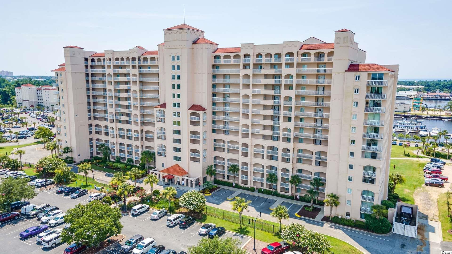 Welcome to the lovely North Tower @ Barefoot Resort. This owner-occupied, never rented unit is in immaculate condition. Carrier HVAC installed in 2020. New Whirpool washer and Dryer from 2020. GE Appliances (Slate/finger proof) and Garbage Disposal from May 2021. It has a great open floor plan waiting for you to add your personal touch. Great place to live or to vacation.  Investors also love it. The location, on the Intracoastal Waterway, near 4 championship Golf Courses and two clubhouses, the quality of the building, and the amenities, make this a desirable place. The Amenities include gated parking with space for Golf carts, and security cameras, a state of the Art saltwater pool. It is also a bus stop at the corner of Harbor Pointe Dr. It is closed to emergency fire and police. The full-service Barefoot Landing Marina is within walking distance of all of the most desirable restaurants, entertainment, and shops that the Grandstrand can offer. A short drive (or walk) to Barefoot Landing and 5 minutes to the beach.