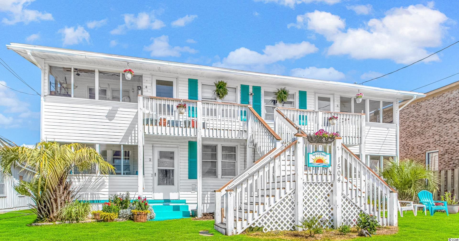 CASHFLOW!!! If you've been looking for a monster investment property, look no further. This five unit multi family property is a rare findand investor's dream. The property features 4, two bedroom 1 bath units, all rented as well as a 3 bedroom home on the same lot. Theproperty sits just a block off the beach and the front porches of the upstairs units even have an ocean view. Located right in the heart ofNorth Myrtle Beach, this property is unbeatable. All units are rented and currently cashflowing. Financials can be provided, so just ask!You won't find anything else like this in the NMB area. Take a look before it's gone!