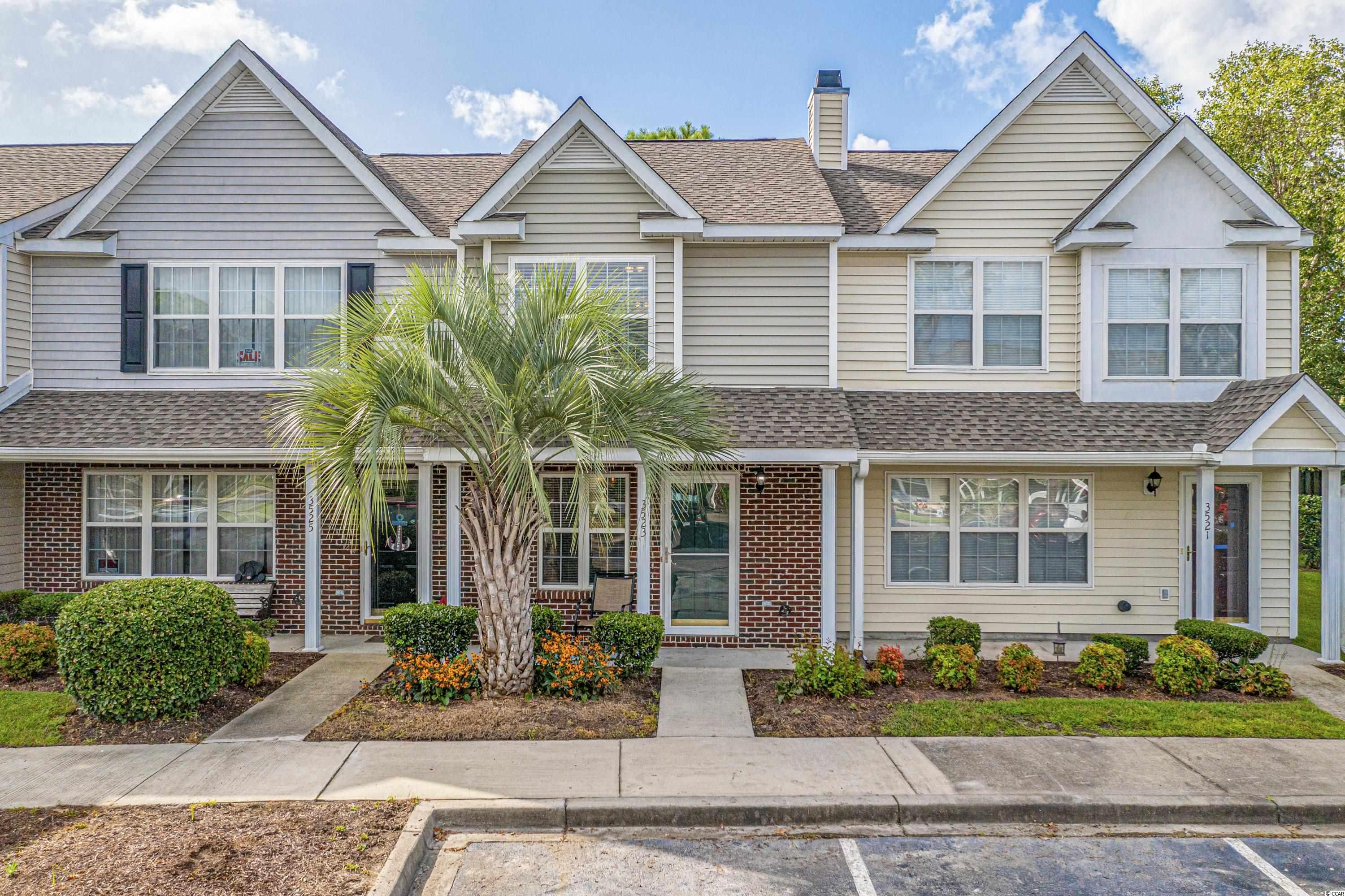 Come see this adorable Townhouse located in the quiet Windsor Gate community of Market Common! The property has 2 master bedrooms each with their own private bathroom upstairs, and a 1/2 bathroom on the main floor. The first floor has an Open Floor plan with vinyl plank flooring and all new Stainless Steel appliances in the kitchen. The HVAC unit was installed in 2018 and the hot water heater was installed in 2016. There is a cozy, private back patio with a semi fenced in grassy yard for BBQs and your favorite pets. The community has it's own pool and is within walking distance to many Restaurants, Theaters, Entertainment, Festivals, Parks, Dog Parks and everything else that Market Common has to offer! Windsor Gate is also a Golf cart distance to the Beautiful Beach & Myrtle Beach State Park! Call today to schedule your appointment to see this beautiful townhome and to find YOUR perfect place at the Beach!