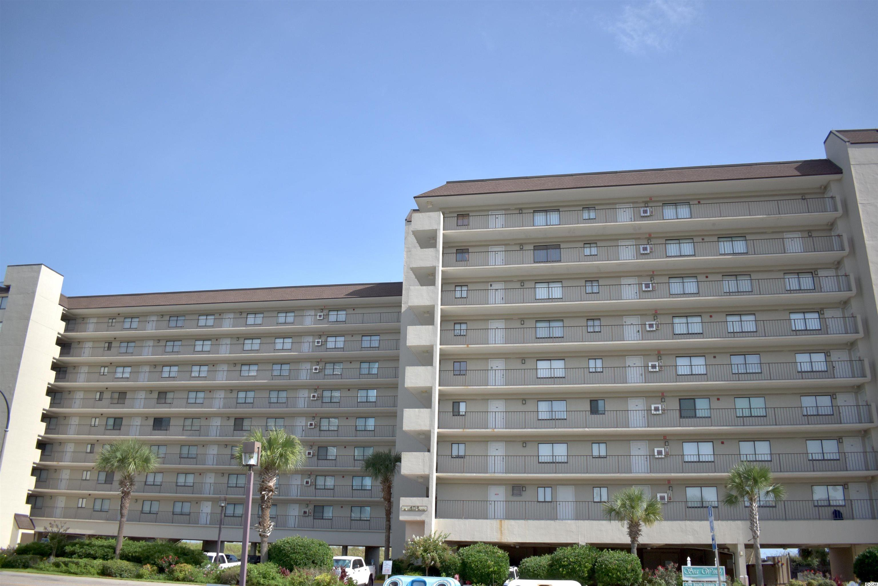 Feel the ocean breeze as you open the massive sliding glass doors that lead out to the large balcony that over looks the Atlantic Ocean.  This turnkey, DIRECT oceanfront 2 BR / 2 BA unit in the highly sought-after Sea Winds complex located in the Windy Hill section of North Myrtle Beach.  RARE double oceanview from the master bedroom and living room.  This 3rd Floor Oceanfront property is being sold completely furnished!  This unit has upgraded flooring, appliances, window treatments, bedding , furniture, Tv's and new showers installed in both bathrooms.  This property is perfect for a second home, vacation rental or even as a primary residence.  Sea Winds is located across from Barefoot Landing which has several great restaurants, shops, and much more.  Units rarely come up in this building so don't miss out on this one.
