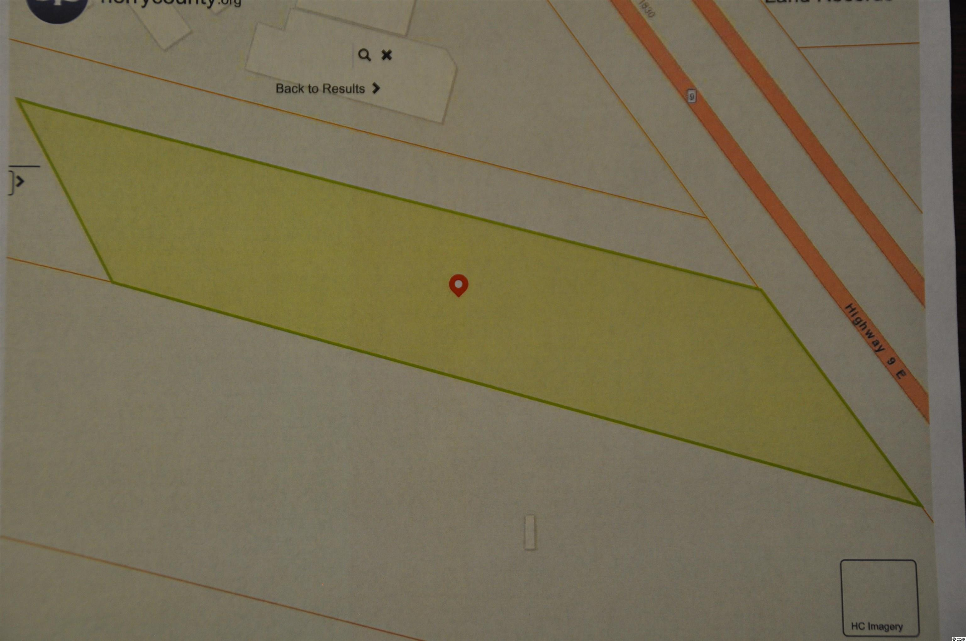 Great commercial opportunity.  2.2 ac lot on Hwy 9.  High traffic count.  Growing area.  Just minutes to the beach.  Great access to Hwy 31 & Hwy 17.