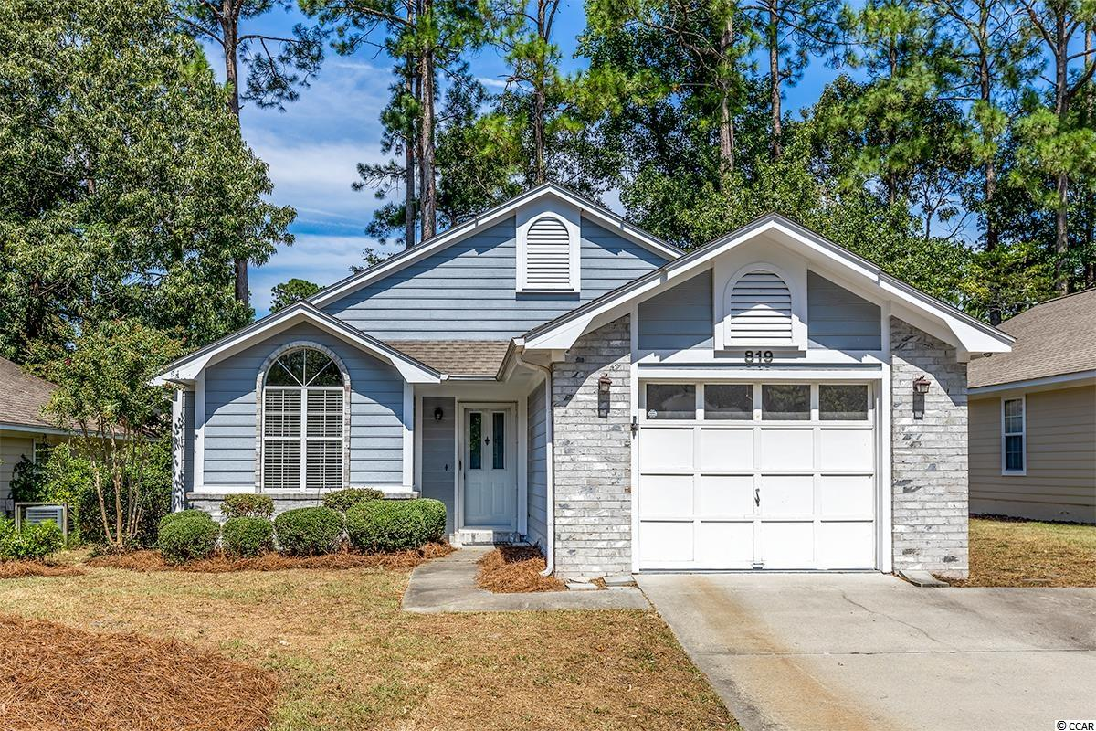 Rare opportunity now available in the highly sought after community, The Knoll at River Hills.  This 3BR/2B single level home has been recently updated and offers an open floor plan with vaulted ceilings, new paint, Stainless Steel appliances, large Carolina Room and more. The oversized Master Suite boasts a walk-in closet and sliding door for access to the Carolina room.  The Knoll at River Hills is in the heart of Little River, which is close to the Waterfront, schools, major road systems and just a short drive to the beach. Make an appointment today!