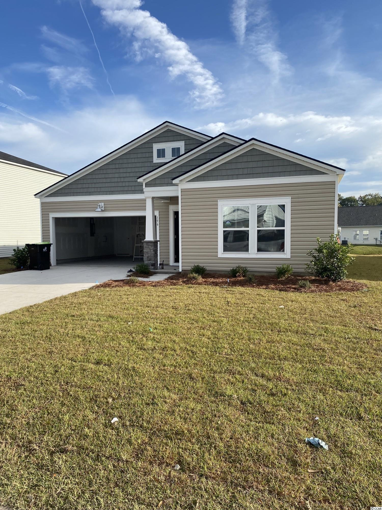 """These pictures are of a """"Similar Home"""", it is a MODEL home with extra options.  Beach Village is our newest community located in Deerfield. This Dover is 3 bedroom 2 bath. This home features Granite kitchen countertops with subway tile. Stainless steel appliances and Laminate flooring. A gas community with a tankless water heater and gas stove.  Low HOA, Internet & Cable"""
