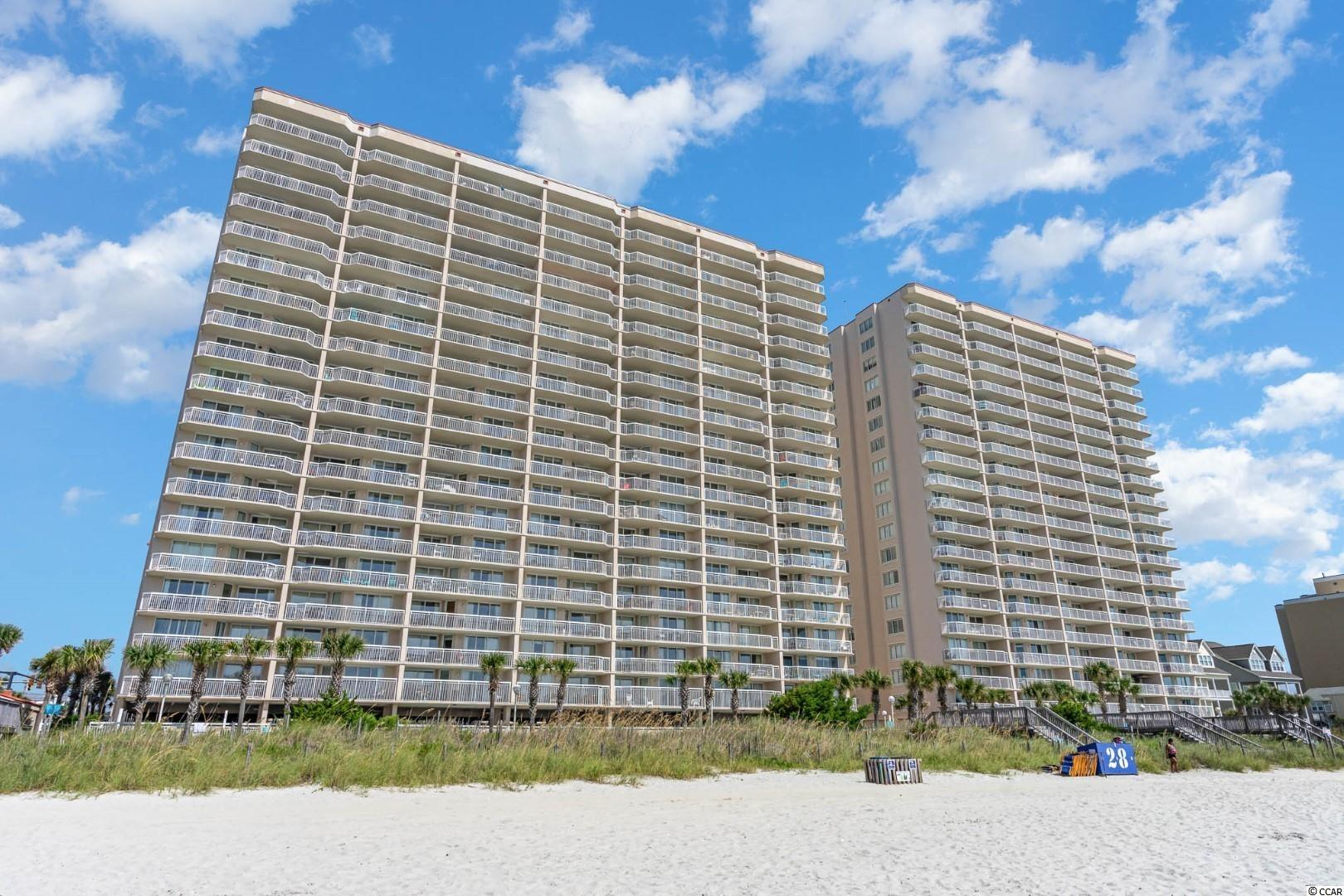 Awesome breathtaking views of the Atlantic from all living areas and the master bedroom of this 12th floor direct oceanfront end unit condo in the Crescent Beach section of North Myrtle Beach. Enjoy your morning coffee and watch the sun rise from the expansive balcony that runs the entire with of the condo and has access from either the living area and master suite. If you vacation with family or friends, this four bedroom three bath condo with over 1,600 ht. sq. ft. is sure to accommodate your entire group.  Master features two closets one of which is walk-in ~ double sink vanity ~ walk-in shower ~ and a bubbly jetted tub. Foyer, kitchen and all wet areas have ceramic tile flooring. Recent upgrades include washer/ dryer ~ All new stainless steel GE kitchen appliances ~ Refrigerator has water and Ice dispenser and Master bedroom mattress. You have a private exterior attached storage closet for your beach chairs and toys .Tastefully decorated ~  Turn key and ready for you to make this your new beach address. Crescent Shores offers indoor/ outdoor pools ~ Lazy River and work out facilities .The building had roof replaced in 2020. Walk next door to Molly Darcey's for a beverage or lunch. Ice Cream shop is just around the corner. Great location~ just minutes to Barefoot Landing and other fantastic attractions the Grand Strand has to offer. Square footage is approximate and not guaranteed. Buyers responsible for verification.