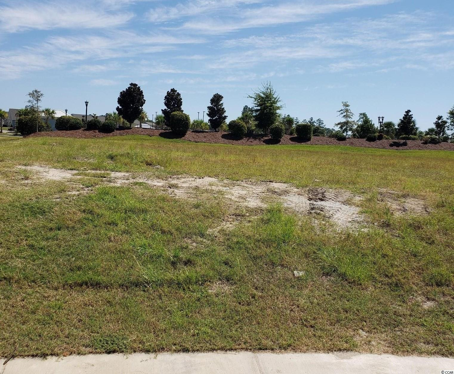 This is the last available large homesite in Waterside Pointe. Excellent location and just a short walk to the Del Webb clubhouse. The gated entrance and access to private day docks on the Waterway for your watercraft make this custom home section unique in the Myrtle Beach market. This lot is cleared and ready for construction. Access to the best Del Webb has to offer in amenities along with the Grande Dunes Ocean Club await. Walking trails, biking, boating and Marina, two 18 hole golf course, dining, shopping and a beautiful stretch of the Atlantic Ocean are available to enhance your lifestyle. This property is located in South Carolina's premier coastal community in Myrtle Beach; Grande Dunes.  Stretching from the Ocean to the Carolina Bays Preserve, this 2200 acre development is amenity-rich and filled with lifestyle opportunities unrivaled in the market.  Owners at Grande Dunes enjoy a 25,000 square foot Ocean Club that boasts exquisite dining, oceanfront pools with food & beverage service, along with meeting rooms and fun activities.  Additionally, the community has two 18-hole golf courses along with several on-site restaurants, deep water marina, Har-tru tennis facility and miles or biking/walking trails!  Please visit our sales gallery located in Grande Dunes Marketplace to learn more about this amazing community you can call home.