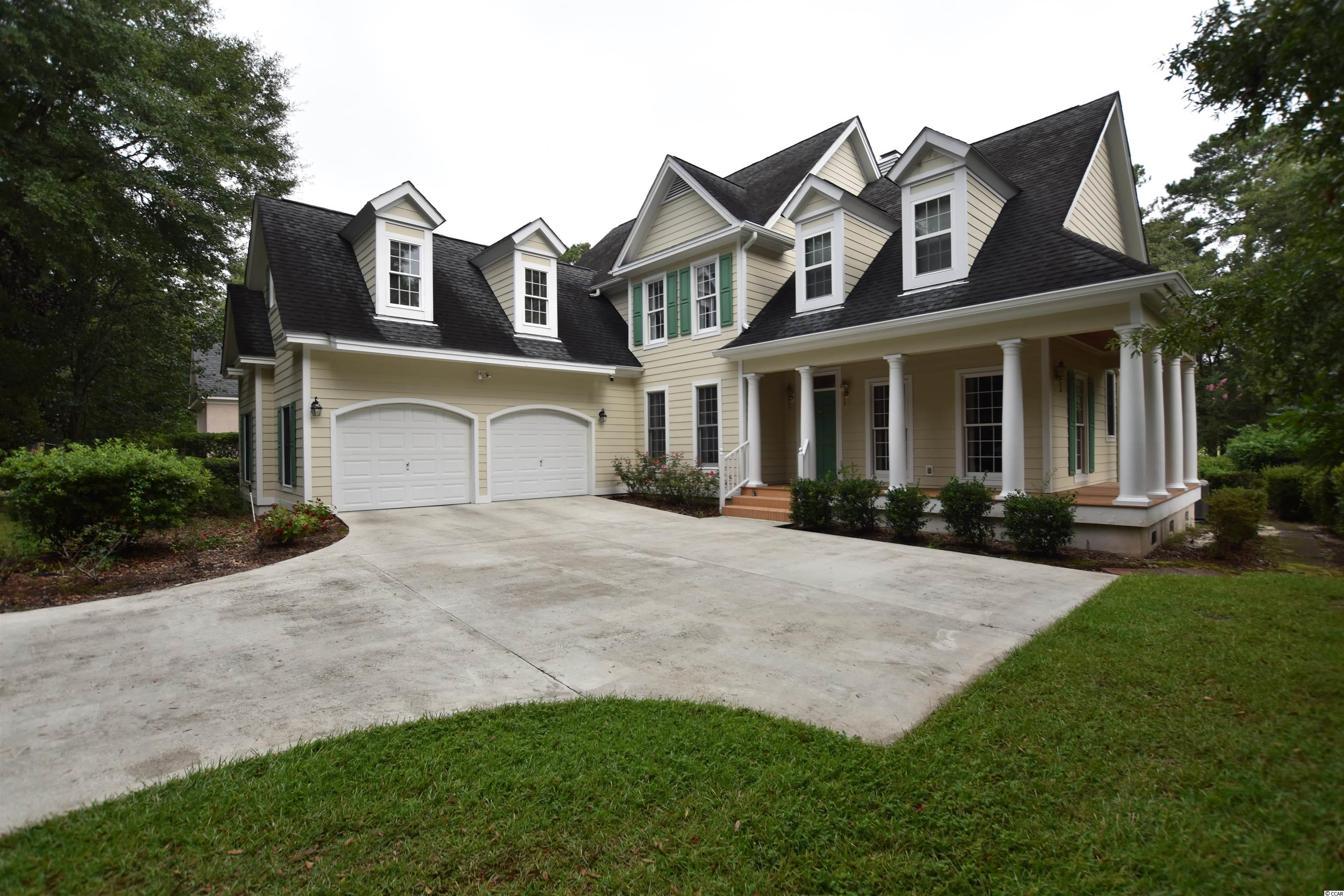 Immediately as you drive through the continuously manned security gates, you will be in absolute awe of the beauty that you will soon call home. You will quickly find that Wachesaw Plantation is not only an ideal location, but is also reminiscent of a meticulously manicured Rice Plantation of years past. Welcome to 2016 Turnberry Lane in the most desirable section of Wachesaw Plantation ! This spacious 4 br / 3 ba home boasts over 4400 total square feet featuring a formal floor plan, an absolutely perfect location, and a beautiful curb appeal. Noteworthy features / upgrades include incredible landscaping, spacious  kitchen with island, well maintained hard wood flooring,incredible storage space, a spacious screened in porch, a comfortable outdoor living area that takes full advantage of your golf course views, and so much more. This exclusive community in Murrells Inlet situated along the Waccamaw River Featuring 24hrmanned security, members only golf course, private dining, and so much more.