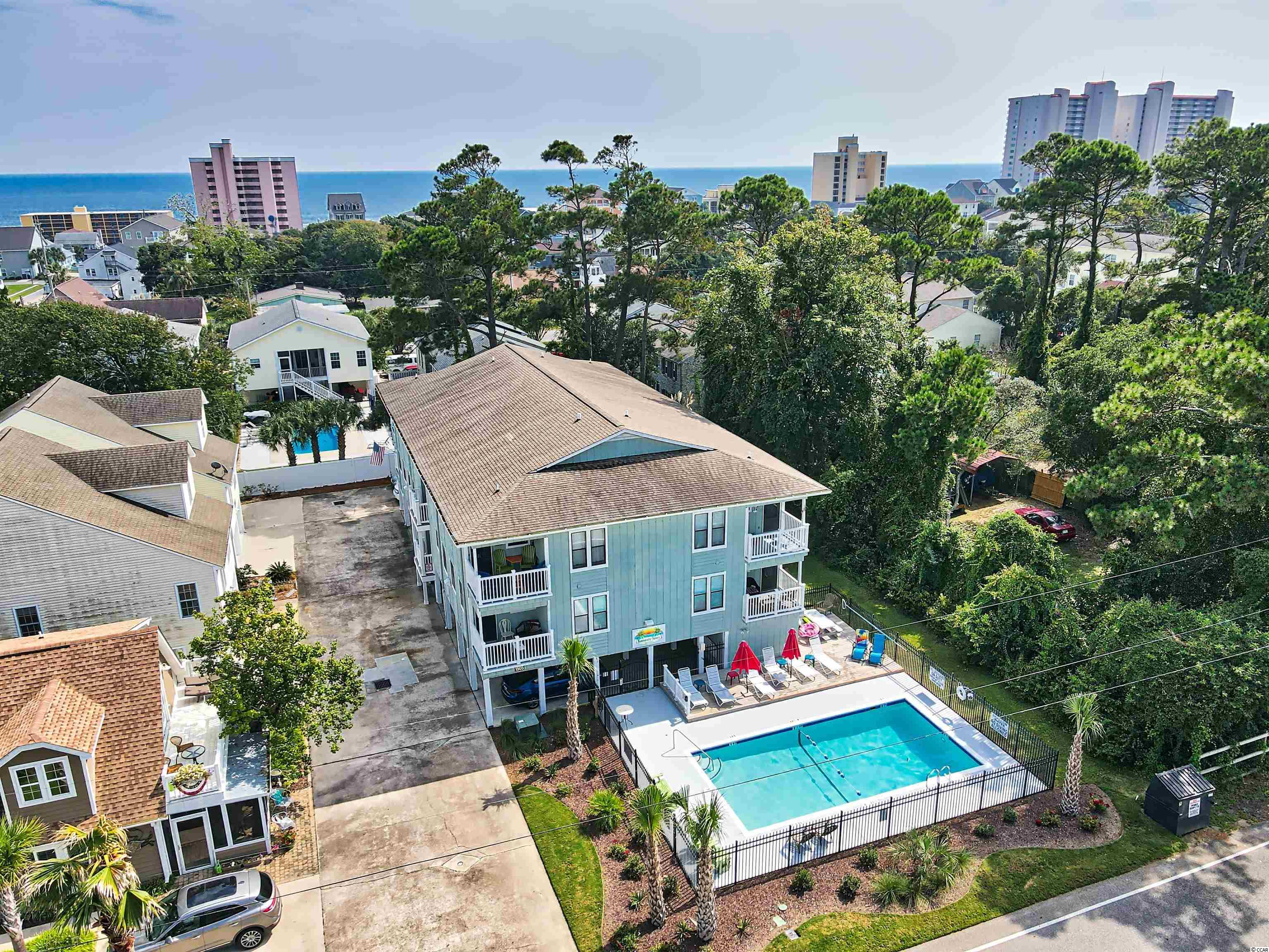 OFFER DEADLINE IS 5PM ON SATURDAY 09/11/2021, PLEASE SUBMIT YOUR FINAL AND BEST. Two Blocks from the beach in North Myrtle Beach, move in ready! This condo will charm you from the very first sight. Immaculate condition, fully furnished and tastefully decorated, all you need is a tooth brush! Condo is freshly painted , has new carpet in both bedrooms, pergo flooring  in the living and dinning rooms, new kitchen cabinets, counter top and sink, new dishwasher, new washer and dryer. Both of the bathrooms have new tile floor, new vanities and hardware. Also this condo offers new HVAC 2018.    Convenient under building parking spot is big enough for 2 cars and a golf cart. And as a nice bonus there is a storage closet downstairs that will fit all of your beach gear and tools.   Run, don't walk! This is a rare opportunity to own your piece of paradise! OPEN HOUSES will be held on Friday 09/10/2021 3pm-5pm and Saturday 09/11/2021 1pm-3pm.