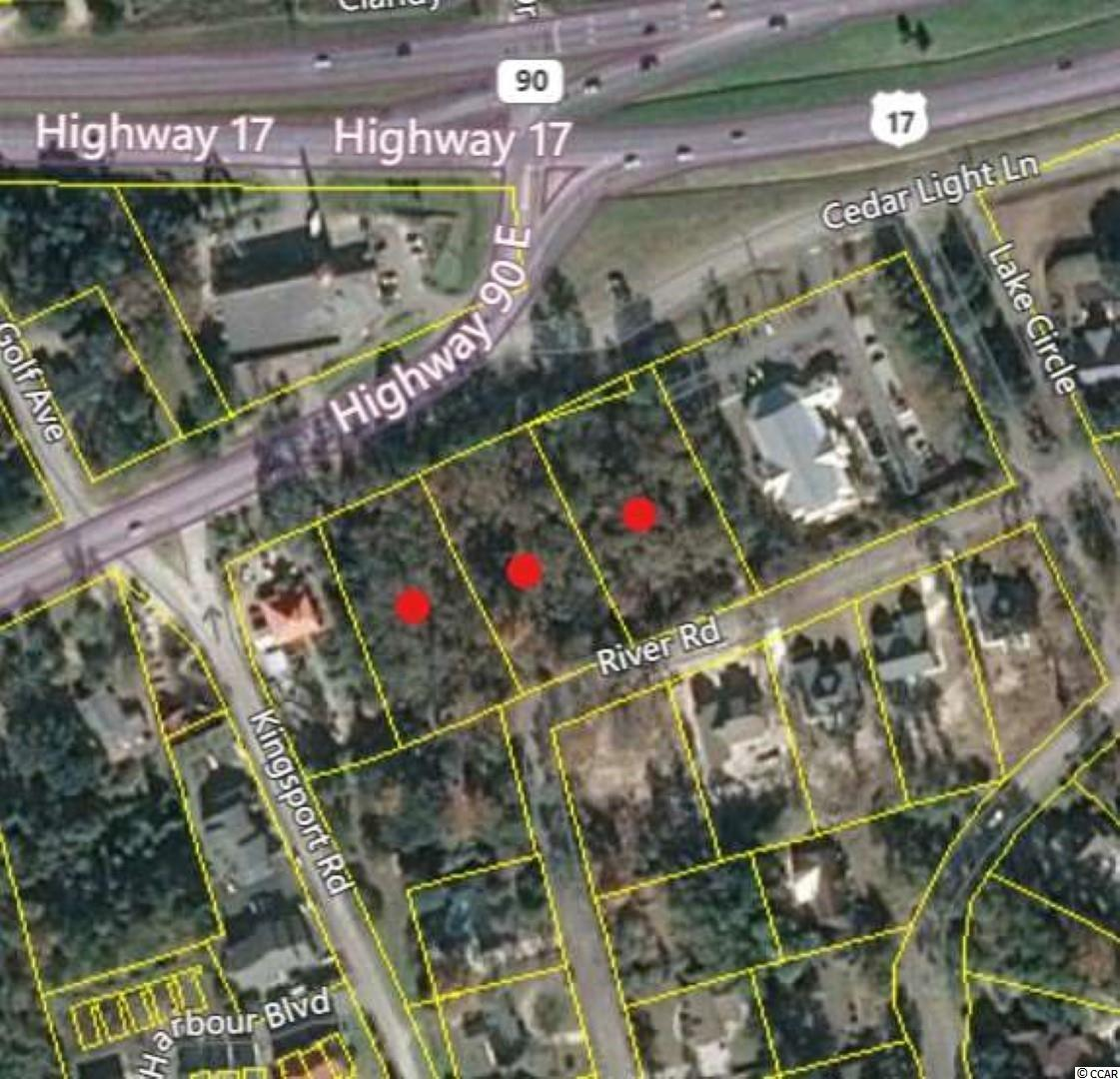 2.61 Total Acres zoned PDD (Planned Development District) with 410 feet of Road front next to the intersection of Hwy 90 and US 17 in the heart of Little River, SC. High traffic counts, high population densities, high average household income, and high average property value at the 1, 3, and 5 mile radius of this property. Area statistics are available on request. PDD zoning allows for most any type of business. A list of permittable businesses is also available on request .This commercial lot has unlimited potential and return on investment opportunity.