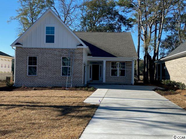 The wait is over for this new phase of Pawleys Plantation. This home is under construction.  The home includes granite countertops throughout, 9 foot ceilings, crown molding and tall baseboards, lawn irrigation and much more! All measurements are approximate and can be verified by Buyers Agent/Purchaser. This home is the Corsica B Model. Don't miss this opportunity to own the home of your dreams in Pawleys Plantation!