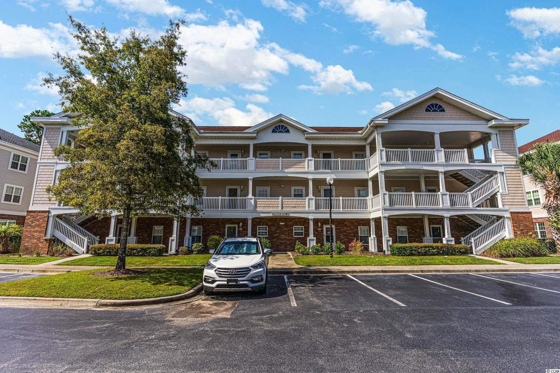 TAKE A look at this beautiful end-unit in the highly desirable community of Cypress bend at Barefoot Resort. This beautiful, 2 bed 2 bath condo comes FULLY furnished. This unit features a bright & sunny open floor plan and a great golf course view! The master suite offers a walk in closet and a tub/shower combo. Generously sized additional bedroom has ample closet space. The kitchen offers ample counter space & cabinet space. Owners and their guests can enjoy a pool, basketball court and volleyball right in the property. Barefoot Resort has many amenities including a Beach Cabana, with private parking & restrooms. Shuttle service too and from the Cabana is provided during the summer months. You will also have access to an Olympic Sized Salt Water Pool that overlooks the Intracoastal Waterway. Conveniently located just minutes from the beach and all the shopping, dining and entertainment that North Myrtle Beach has to offer. Do not miss out on this incredibly rare opportunity and schedule a showing today!