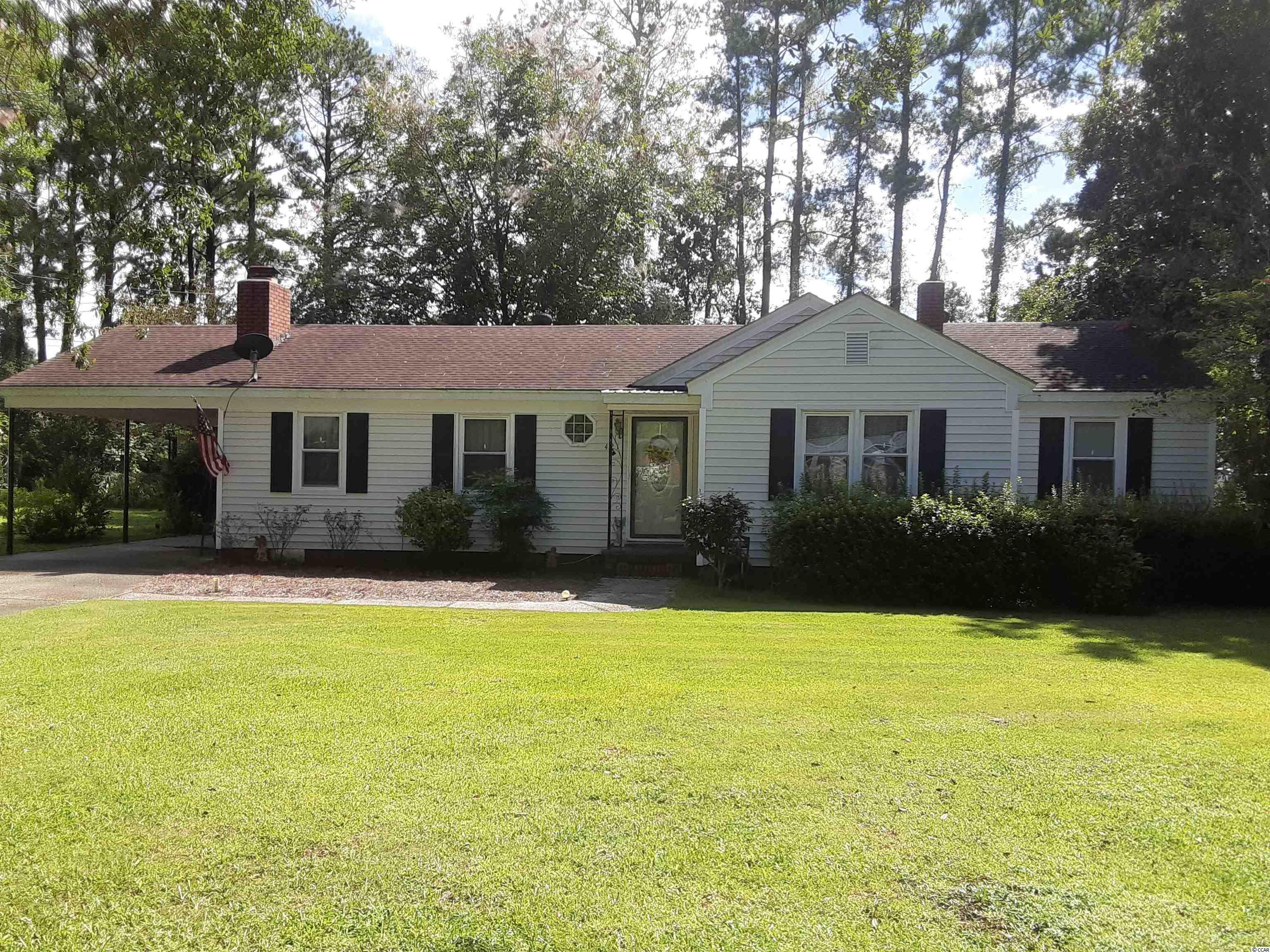 3 bedroom / 2 bath ranch located in the Maryville area of Georgetown. 5 minutes to Historic District waterfront shopping and dining. 30 minutes from Myrtle Beach and 60 minutes from Charleston. Located near Maryville school. Has two 10x16 outbuildings. A/C and duct work is 6 months old. Has new front door and has vinyl windows. Range and dishwasher are 2 years old. Square footage is approximate and not guaranteed. The buyer is responsible for verification.