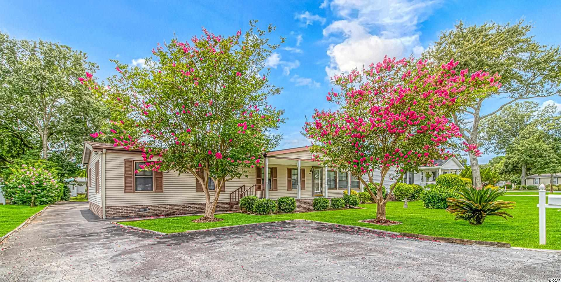 Open House Sunday September 12th 1-4 pm Welcome to your Forever Home at the Beach. This Beautiful 3 Bedroom 2 Bath also features a spacious office (currently setup as a 4th bedroom) with French Doors leading to the living room. Your new home also features an oversized 2 car garage behind the home which offers storage and privacy. The Live Oak community is a rare 55 and older where you own your land and still have a fantastic community with a pool and recreation center.