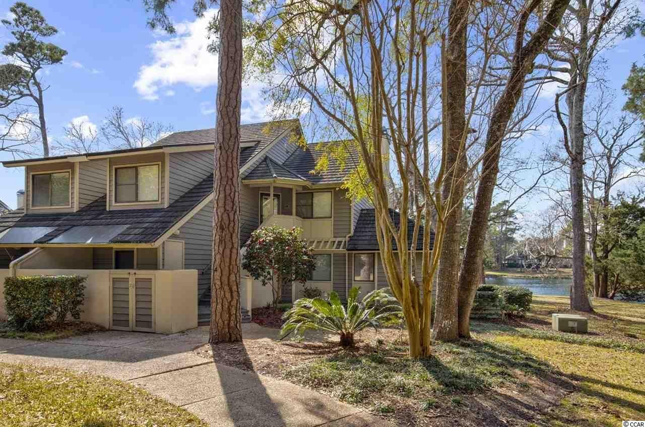 This 3 bedroom, 3 bath villa located on the lake in Richmond Park is a 2nd floor unit with cathedral ceilings.  Kingston offers a selection of one, two, three and four-bedroom villas, townhomes, lakefront lodges and oceanfront high-rises through the community.  Kingston is a 145 acre master planned community and offers a combination of amenities and preserved natural environment that is not replicated in our area. Enjoy one half mile of oceanfront sandy beaches, 12 acres of freshwater lakes and mature and manicured landscaping. Resort amenities include many swimming pools, 2 oceanfront hotels with offerings such as Starbucks, pool bars and fine dining choices. Enjoy tennis & pickle ball at the brand new fitness center and spa when you join the Kingston Fitness Center. Children's Playground, walking trails and beach volleyball courts are also found throughout Kingston. The entire community experience is ideally located between Myrtle Beach and North Myrtle Beach with shopping, dining and entertainment only a short drive away. This villa would be ideal as a primary or second home. Great rental income make this an asset to the portfolio.