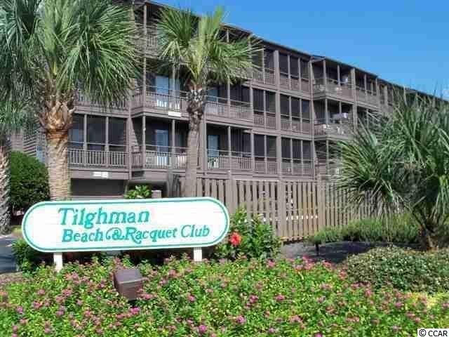 If you're looking to buy an oceanfront condo for family use or as an investment, look no further! This is the only oceanfront condo for sale at the very popular Tilghman Beach & Racquet Club Resort. This prime and much desired second floor corner unit offers breathtaking views of the ocean, beach and pool. Oceanfront condo 221 has a very impressive rental history. Recently renovated featuring new wood floors, stainless steel appliances, customized corner desk, new HVAC system and much more.  Very tastefully decorated with a coastal, beachy theme. It's in immaculate condition and just waiting for a new owner to enjoy!