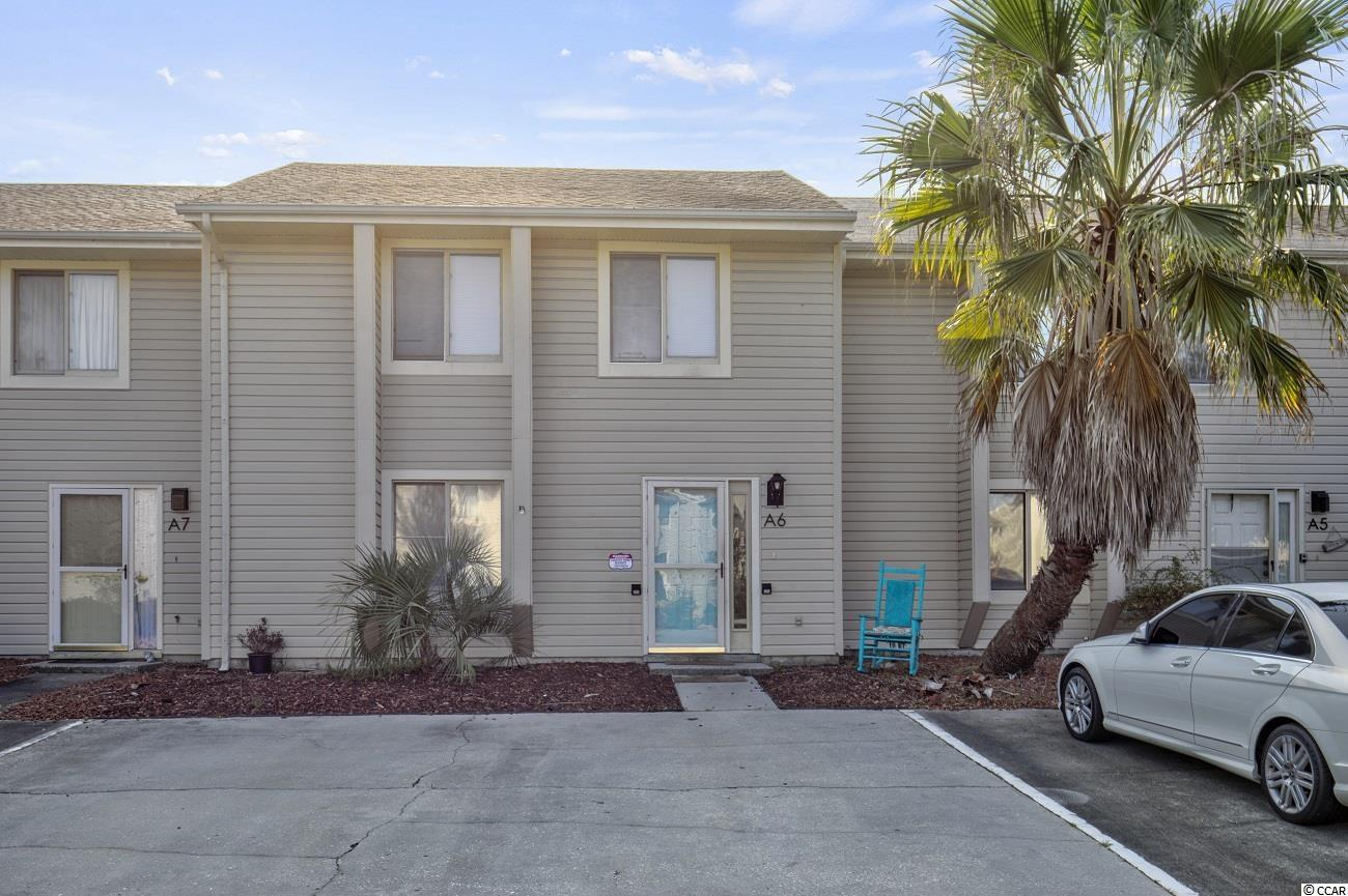 Come see this 3 bedroom 2.5 bath townhome in the heart of Little River. Centrally located across from the major nearby hospital, golfing, restaurants, waterway events, and less than +/- 10 mins to the beach. Enjoy the lower HOA fees which include: water, sewer, trash, pool, and cable TV. This townhome has all three bedrooms upstairs, laminate flooring throughout living areas and kitchen. Washer, Dryer and all appliances convey. Private back patio area partially fenced with outside attached storage closet. Come see this townhome now!