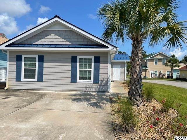 Popular Dolphin Plan 2 bedroom, 2 bath.  Granite countertops, SS appliances, Natural Gas Community, Heat, Cooking, Tankless Hot Water!  Hardy Plank siding, metal roof ground level home with low HOA.  Close to beaches, shopping and restaurants.  Great second home or full time beach living.