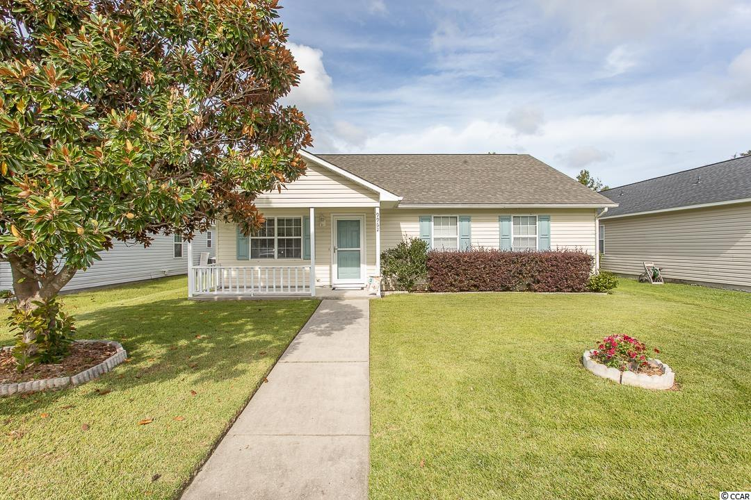 Meticulously well-maintained home in Pines at St. James with a one-year old roof and a brand new HVAC system (heat pump AND air handler). Window treatments and all appliances (refrig., W/D, stove, microwave) remain with the home - PLUS an extra stove and refrigerator in the garage for those special family Thanksgivings, ball game gatherings, and bulk purchases. Fenced in area in rear yard for a small dog. Kitchen frig and dishwasher just a couple years old. Walk-in closet in large master bedroom. Added window trim and storm doors. Upgraded flooring. Large eat-in kitchen with island. 2-car garage with brand new garage door openers. Vaulted living room ceiling.