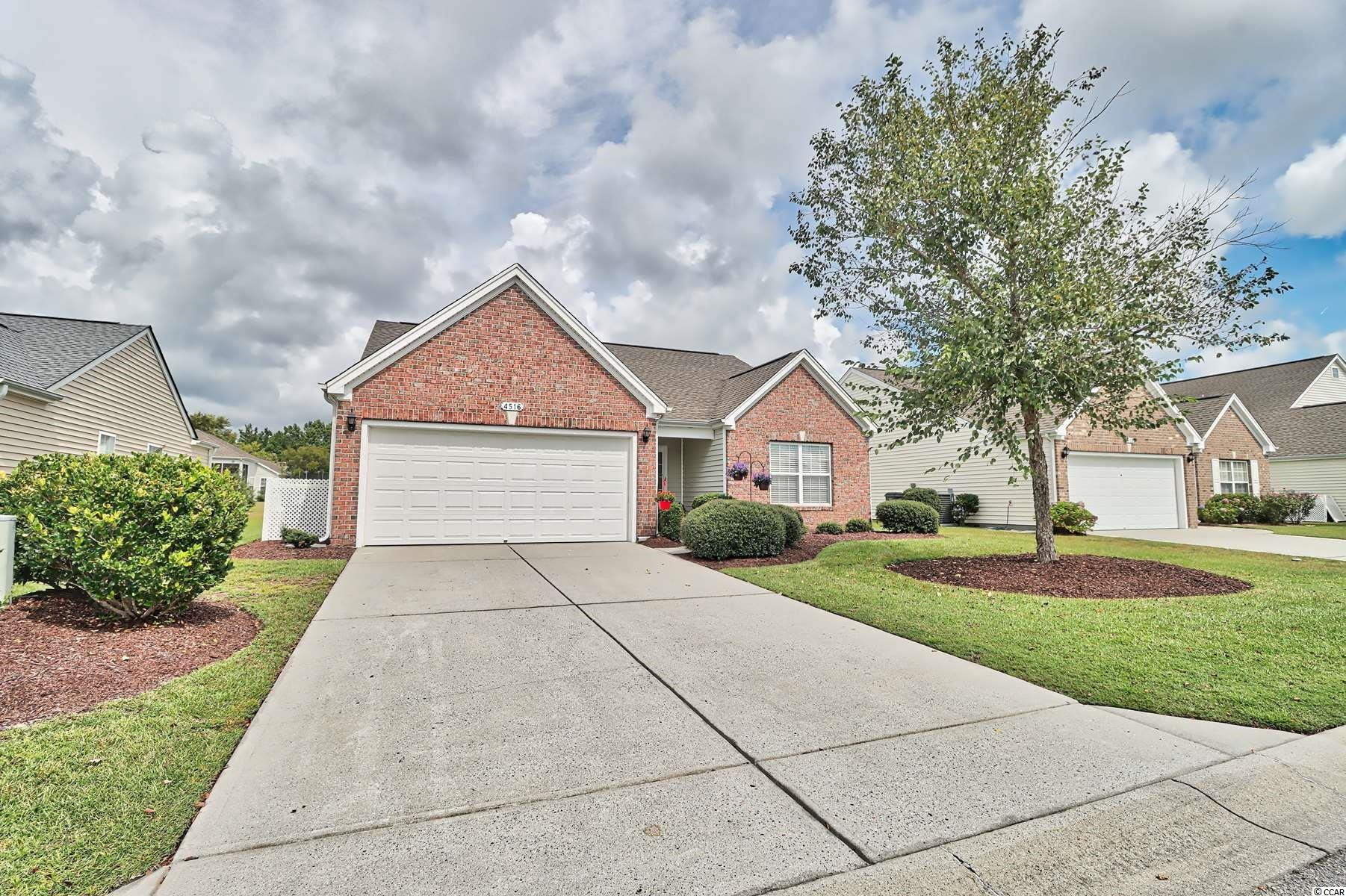 As you enter this spacious three bedroom, two bath, single level home, you will immediately notice the large open floor plan. The spacious kitchen with breakfast bar boasts beautiful white and grey granite countertops, marble backsplash, stainless steel appliances, forty-two inch cabinets, and luxury vinyl plank flooring throughout. The living area includes a cozy fireplace, vaulted ceilings and flows directly into the bright Carolina Room off the back of the home . The master bedroom includes vaulted ceilings, ceiling fan, and walk-in closet.  The en suite master bath has tile flooring, double sinks with granite countertops, a garden tub, and shower.  With the huge patio and fenced-in backyard, this home is move in ready and offers the perfect outdoor space for entertaining.