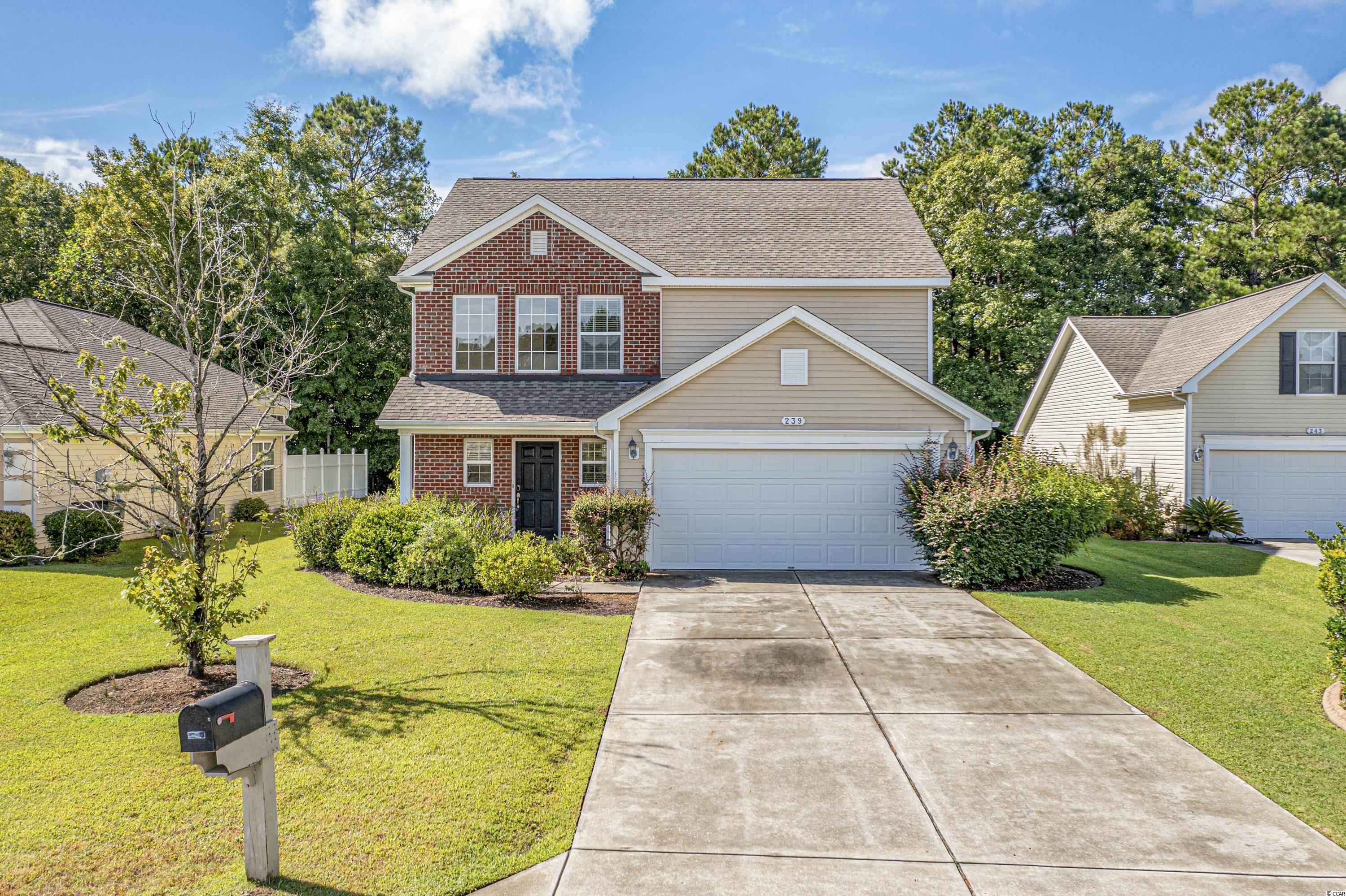 A beautiful and well maintained 4 bedrooms/ 2 full baths and 1 half bath (powder room) at the prestigious community of International Club - The Meadows . Enjoy the open floor plan concept, beautiful flooring and great features. The foyer is leading to the main living area.  The large windows create a great indoor/ outdoor flow and allow plenty of natural light. The large kitchen offers granite counter tops, plenty of cabinets and counter space, a pantry and a kitchen nook. The kitchen  is open to both living room and dinning room and is great for entertaining.  Great master suite offers a master bath with double sink vanity, a walk in shower and a walk in closet. The home offers three additional large bedrooms with spacious closets.  The attached 2 car garage and extra long driveway will accommodate all of your parking needs. The home is built on an amazing private lot backing up to the woods. The home is located on a very quiet  cul-de-sac street. The lawn & landscape are very well kept.  This exceptional home is located in the Horry County St. James School District and in a beautiful golf community at International Club of Murrells Inlet. The community offers residents and their guest a clubhouse facility with fitness center, a large swimming pool with a very spacious pool deck, playground area. The entire community is built around the International Club Golf Course. Only minutes to the Murrells Inlet Marsh walk, Huntington Beach State Park, Garden City Beaches and many other area attractions. Don't wait on this one. Call for a showing appointment.