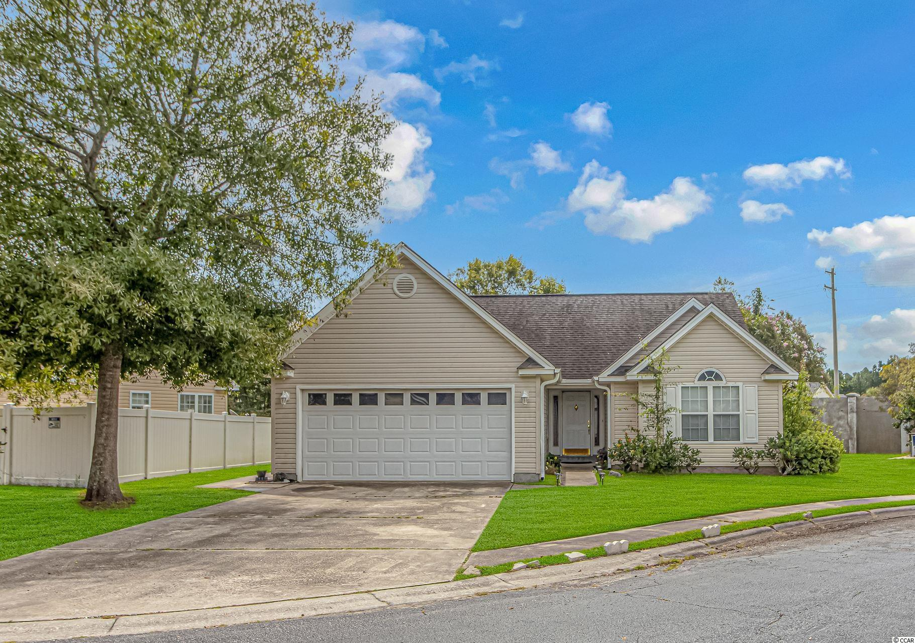 Turn-Key, 3 Bedroom, 2 Bath home available in the Summer Lakes community in Murrells Inlet.  This home showcases an open living area with vaulted ceilings making it feel very spacious inside.  The galley style kitchen has been updated and includes white cabinetry, granite counters, stainless steel appliances, a pantry, and an eat-in area.  A split bedroom plan is present - and the master suite includes vaulted ceilings, an extended double vanity, walk-in closet and linen closet.  Don't miss the 2nd kitchen in the garage - with cabinets, counters, stove and refrigerator - a perfect place to entertain in the colder months!  This location is right off Highway 707 which provides easy access to plenty of shopping, dining and entertainment options and is just a short drive to the beach.  Measurements are not guaranteed and are the buyers responsibility to verify.