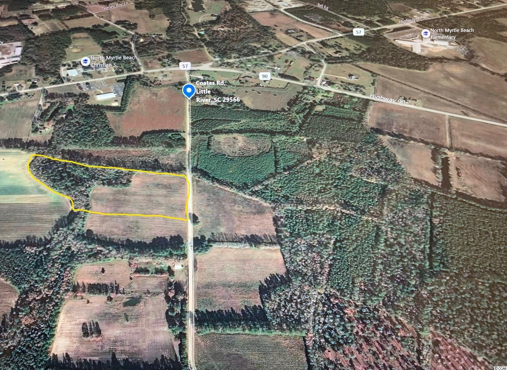 10.76 acres just off of Hwy. 90/Hwy 57 and just down the road from the NMB connector road and Hwy 22.  Zoned  CFA