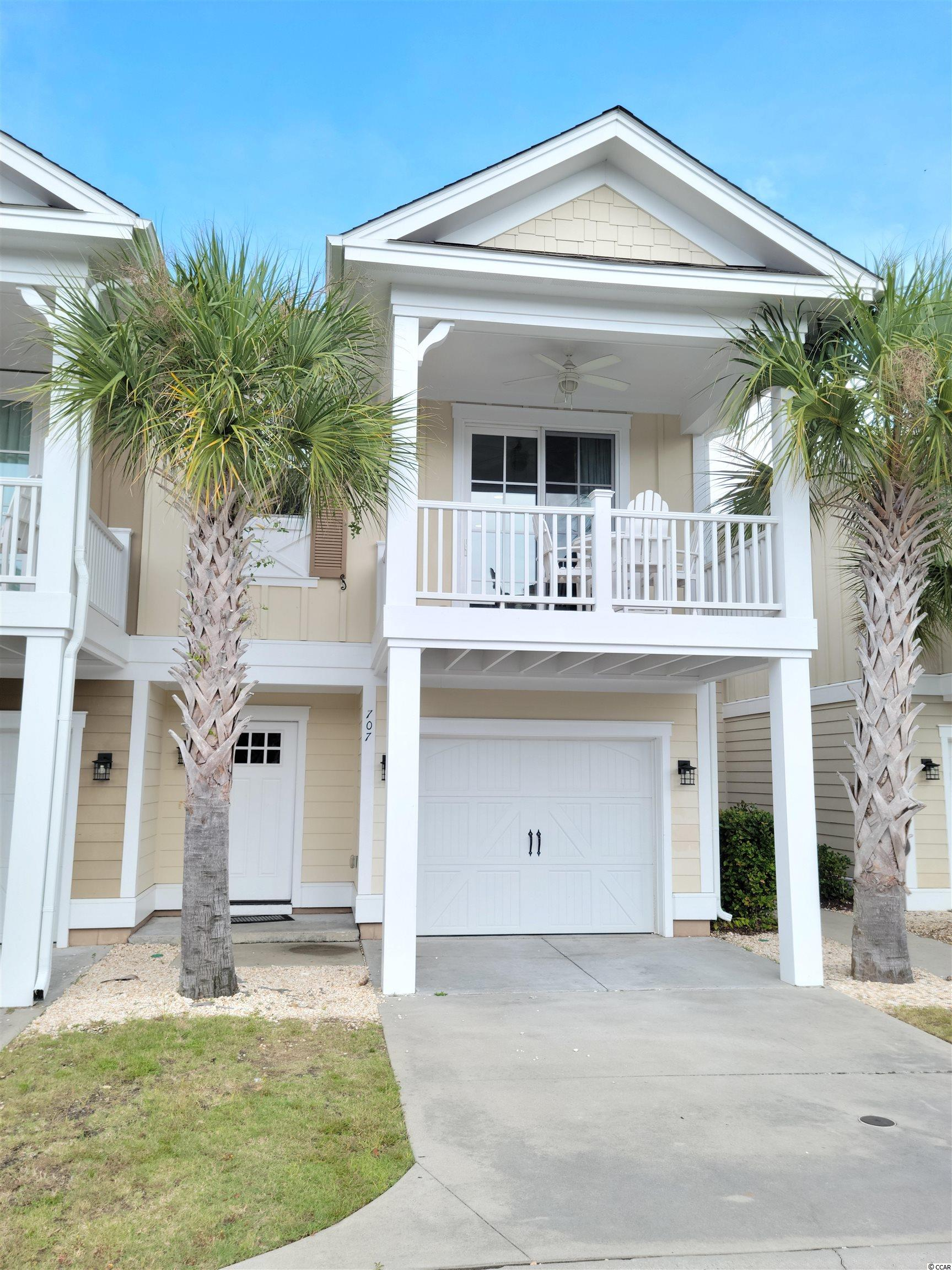 Spectacular furnished 2 BR/2 BA attached townhouse in the Exchange Villas at North Beach Plantation an oceanfront community. This townhome features an open floorplan with attached 1-car garage and covered balcony. North Beach Plantation offers a 2.5-acre oceanfront pool area with the only swim-up bar along the Grand Strand, world-class Cinzia Spa, Beach Fit fitness center, and on-site restaurants conveniently located near Barefoot Landing with easy access to Hwy. 22 and Hwy. 31.