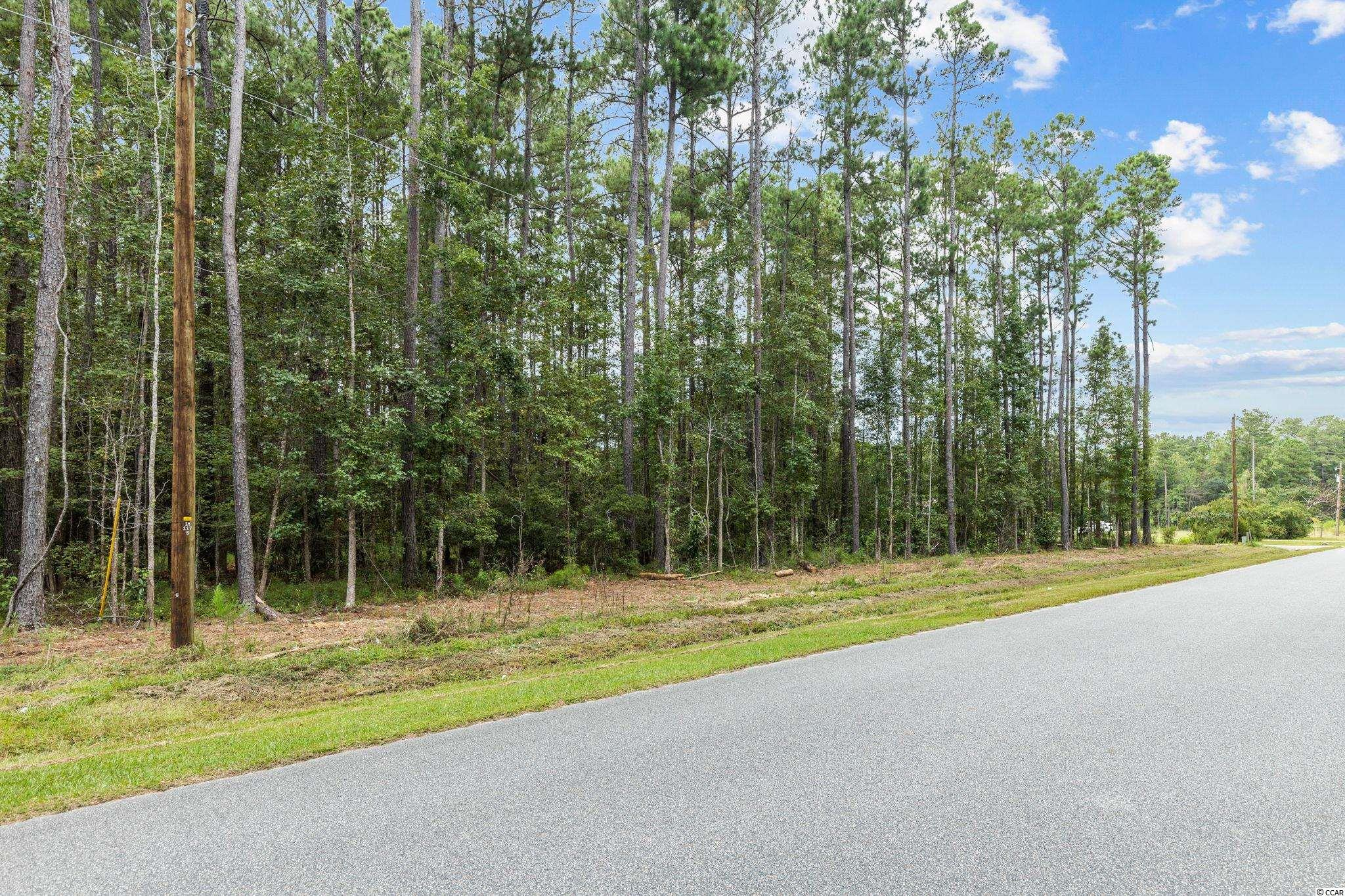 Opportunity awaits.  8.86 acre parcel of land in Little River just waiting to be developed.  The property extends from W. Duberry Road to Tharpe Road.  Signs are located on both ends of the property for identification.
