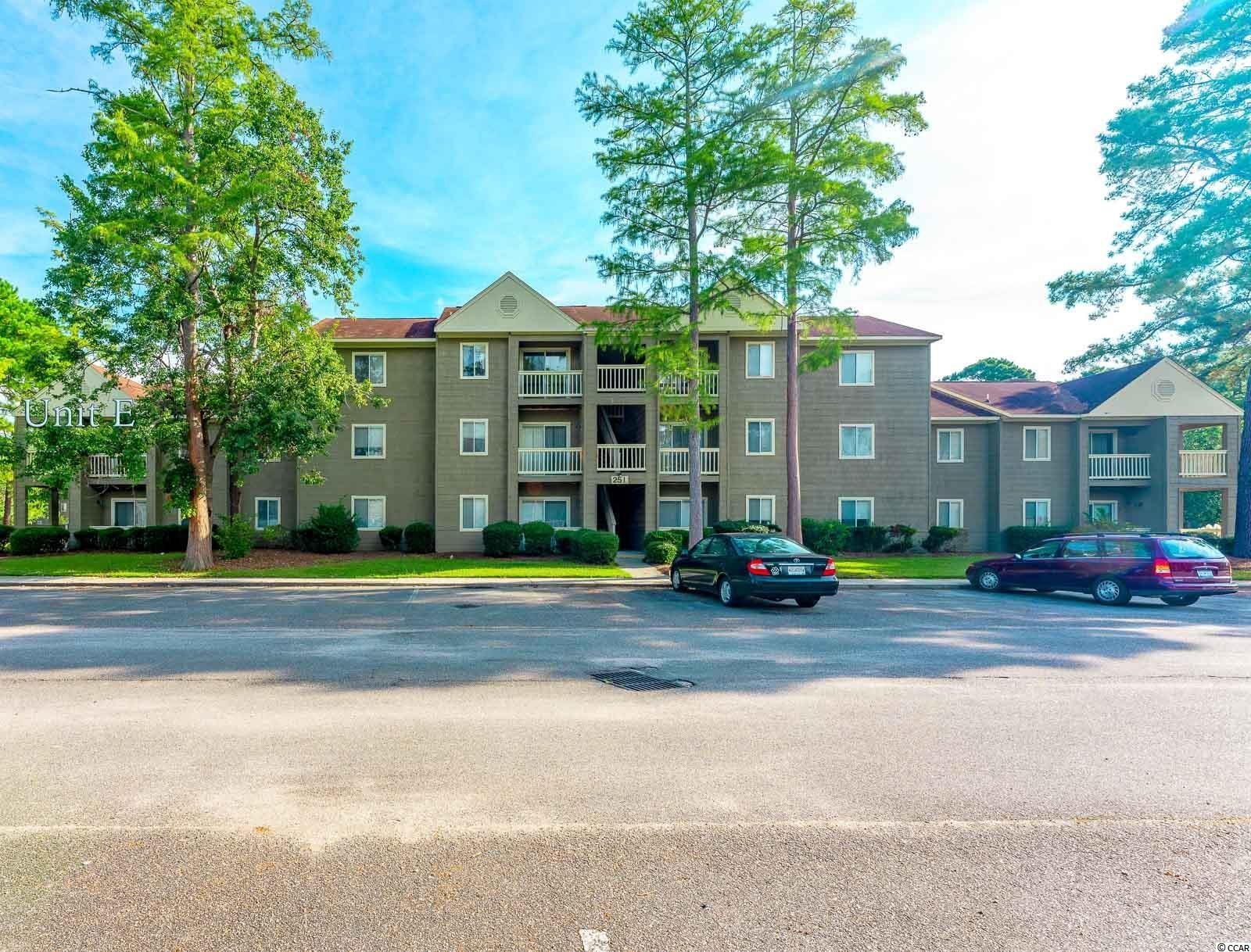 Looking for a fantastic investment opportunity or a home for the Coastal Carolina student. Then this 2 bed, 1 bath condo is just what you need! This is a second floor, end unit with its own private staircase. At 754 heated sq ft, the space feels much larger due to the open living/dining area, which leads into the fully equipped kitchen. Here you will also find the washer/dryer tucked away in their own closet. There are two porches with this unit, the largest leading directly off of the living area and the second, the dining area, letting in lots of natural light. Off of the hallway, you will find the family bathroom, followed by two spacious bedrooms. And lets not forget, this condo comes equipped with access to the community swimming pool and tennis courts! Just minutes from the college campus and centrally located to Downtown Conway and Myrtle Beach, you are never too far from anything. Schedule a showing today!