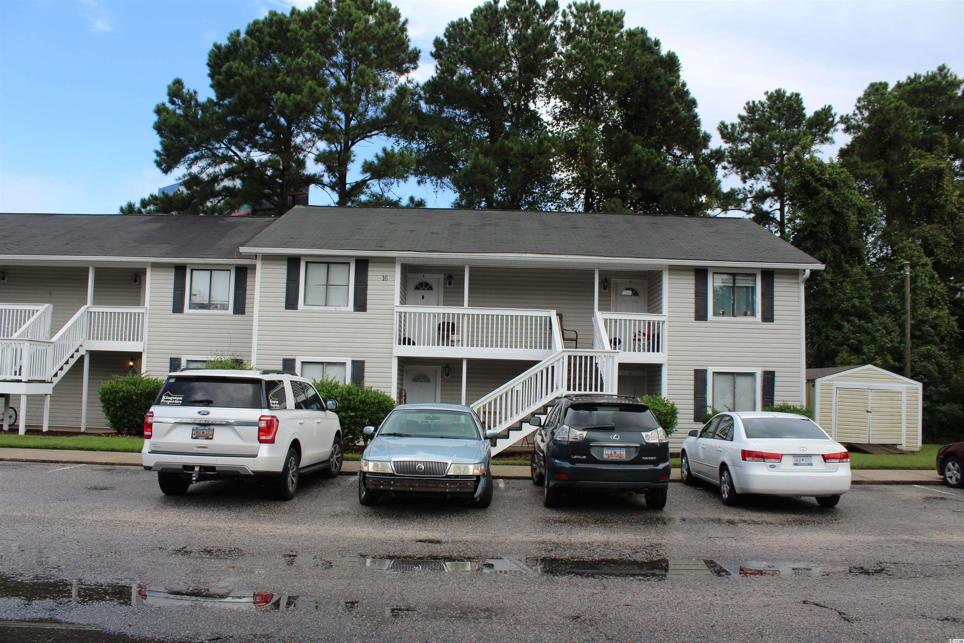 Great investment property. There is a tenant in place, instant cash flow. Close to Coastal Carolina University and Horry/Georgetown Tec. Two bedrooms and two baths, first floor unit.  Coastal Villas amenities include an outdoor pool and an on site Laundromat. Only minutes to downtown Conway and the  Waccamaw River-Walk, near shopping, dining, golf, and less than 12 miles from the beach. Schedule your showing today!