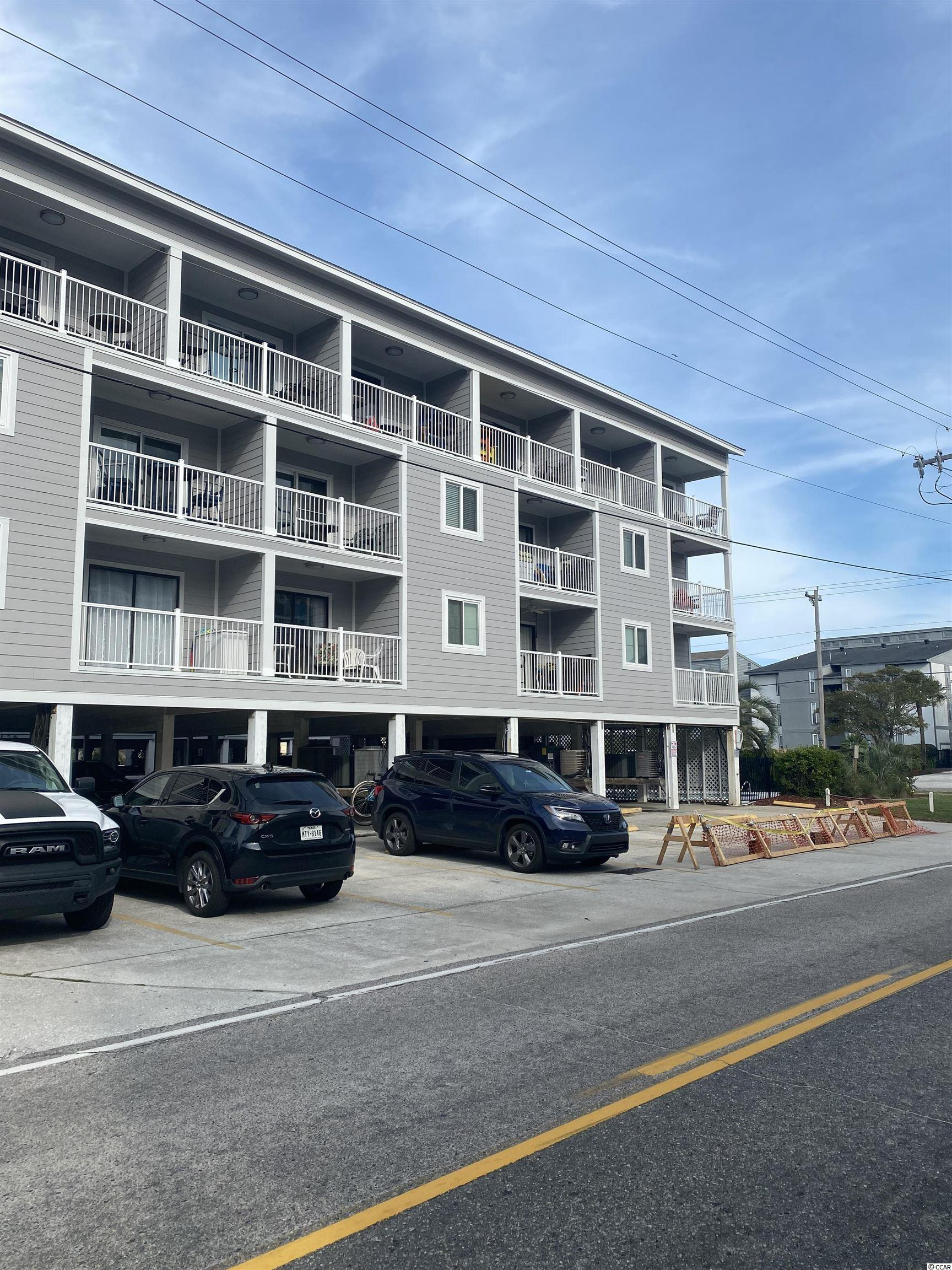 Looking for a great condo in Garden city ..... here it is. Nice 2 br 1 bath unit on the third floor with great views of the Atlantic Ocean. Fully furnished and mainly used as a second home . This unit is in a great location for walking, activities and of course the beach. There is a pool on property and an elevator.  Book your showing today!