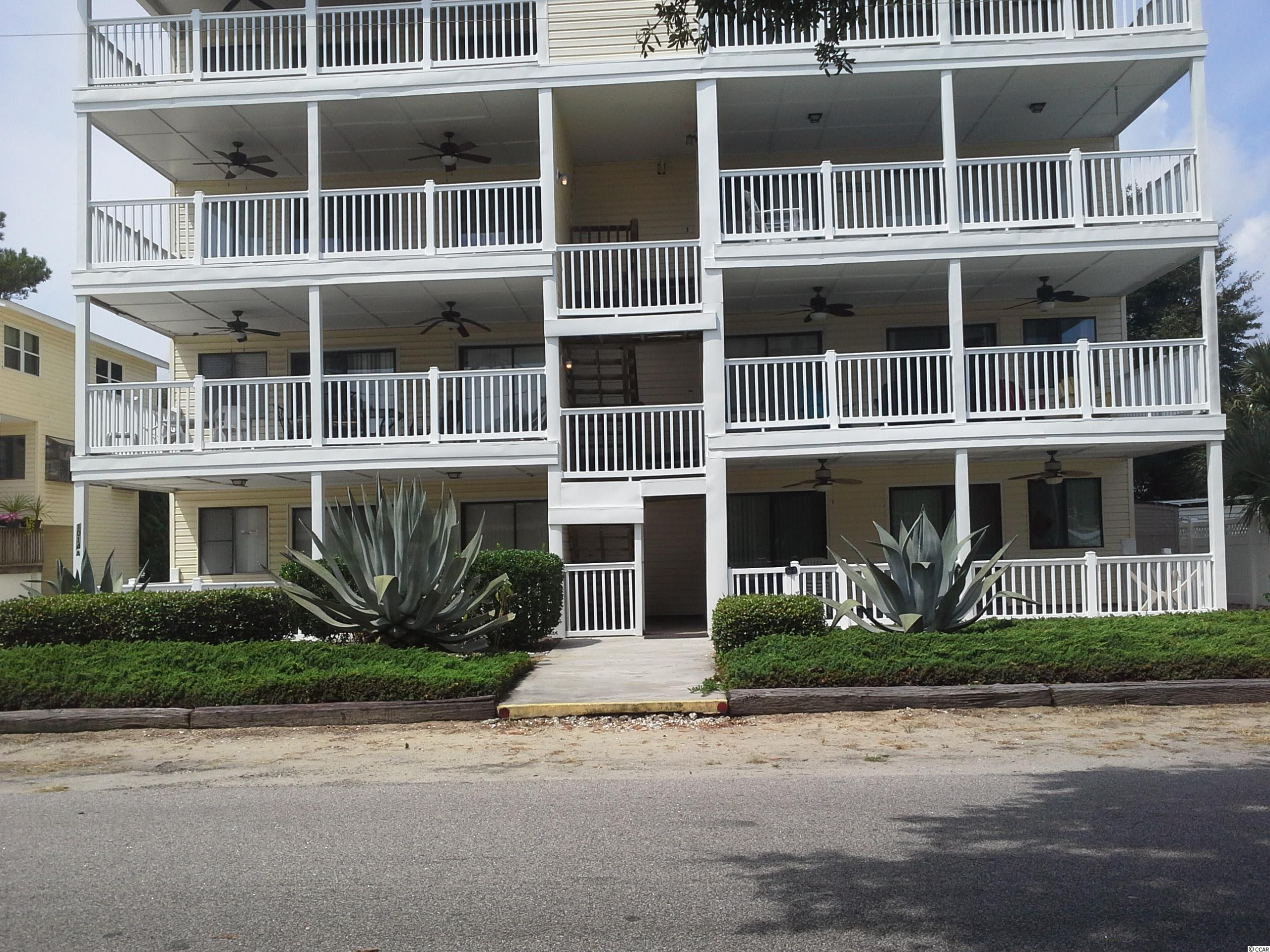 Convenient location in Surfside Beach with a short walk to the beach, restaurants, shopping and entertainment.  This well maintained 2 bedroom, 2 bath condo offers an open floor plan excellent for entertaining and family vacation time.  The large living area opens up to a huge balcony with ceiling fans for those warm days or nights. The balcony is perfect for dining or just having that morning coffee while enjoying the ocean breeze.   A must see!!