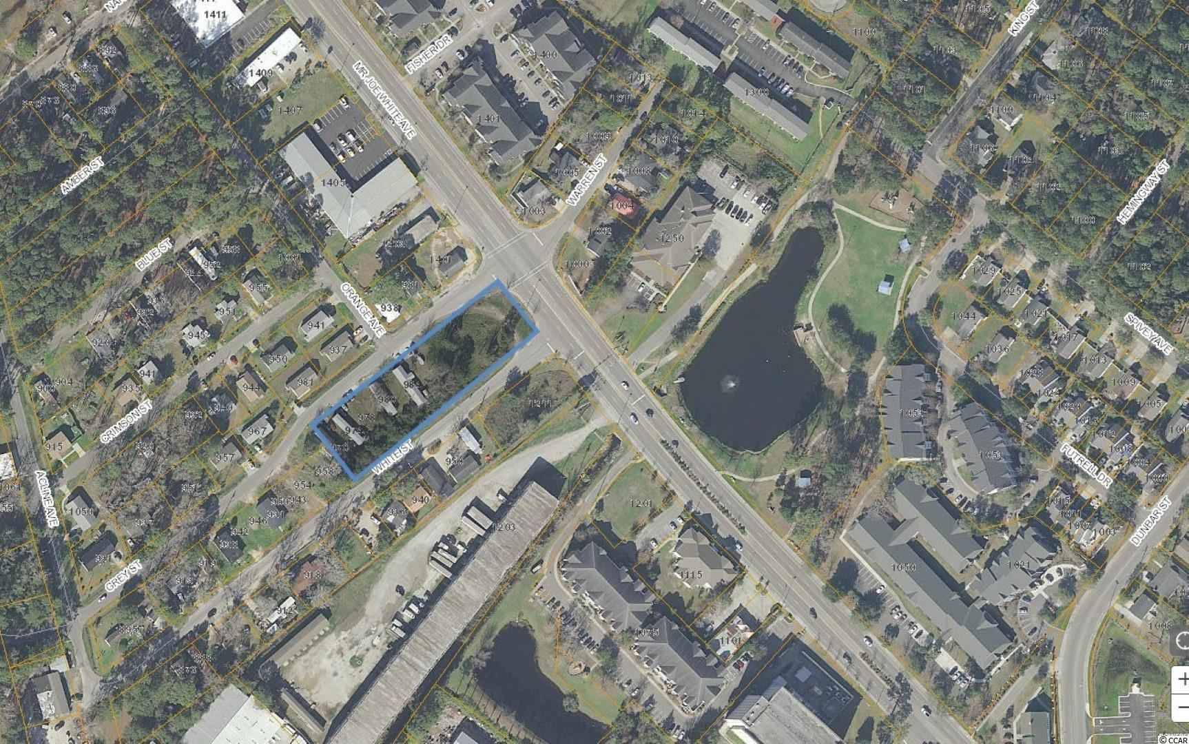 Approx. 1.13 acre with 120' frontage on 10th Ave N. Located within city limits of Myrtle Beach in an Opportunity Zone.  Zoning is MU-M (Mixed Use Medium Density) on the front portion of the property and RMM (Multi-Family Residential, Medium Density) on the rear portion of the property.  MU-M Zoning allows for SF & MF Residential and several Commercial Uses. RMM Zoning allows for SF & MF Residential among other uses. Site is located less than 1 mile from Atlantic Ocean and is in close proximity to retail, restaurants & entertainment. Measurements are approximate and not guaranteed. Buyer responsible for verification.