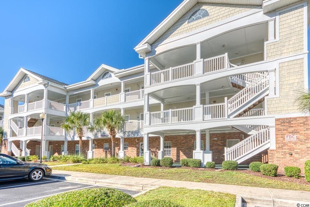 This fully furnished, immaculate, corner 2 Bedroom 2 Bath condo in Arbor Trace at Barefoot Resort has never been rented, and was only used several times a year. It is conveniently located close to the community pool, and offers golf course views from the Living Room and Master Bedroom.  This is the end unit, so the condo has a lot of natural light with 2 additional windows in the kitchen and dinning area. Enjoy the morning coffee on the screened-in balcony where the owners just added new carpeting and high end patio furniture. The HVAC system, and water heater have also been replaced, making it a perfect, move in ready primary residence, second home or even investment property.  Living in Barefoot Resort comes with abundance of amenities: besides the Arbor Trace community pool, you can enjoy your sunny days at a 15,000 sq. ft salt water pool on the ICW.  There are 4 championship golf courses, 2 multi-million dollar club houses,  a driving range, several restaurants and even a Sports Bar and Grill to watch your favorite games. The seasonal shuttle service is provided to take you to the Private Beach Cabana on the oceanfront. The brand new cabana is under construction and is supposed to be finished in November.  Come live the Barefoot Lifestyle today!