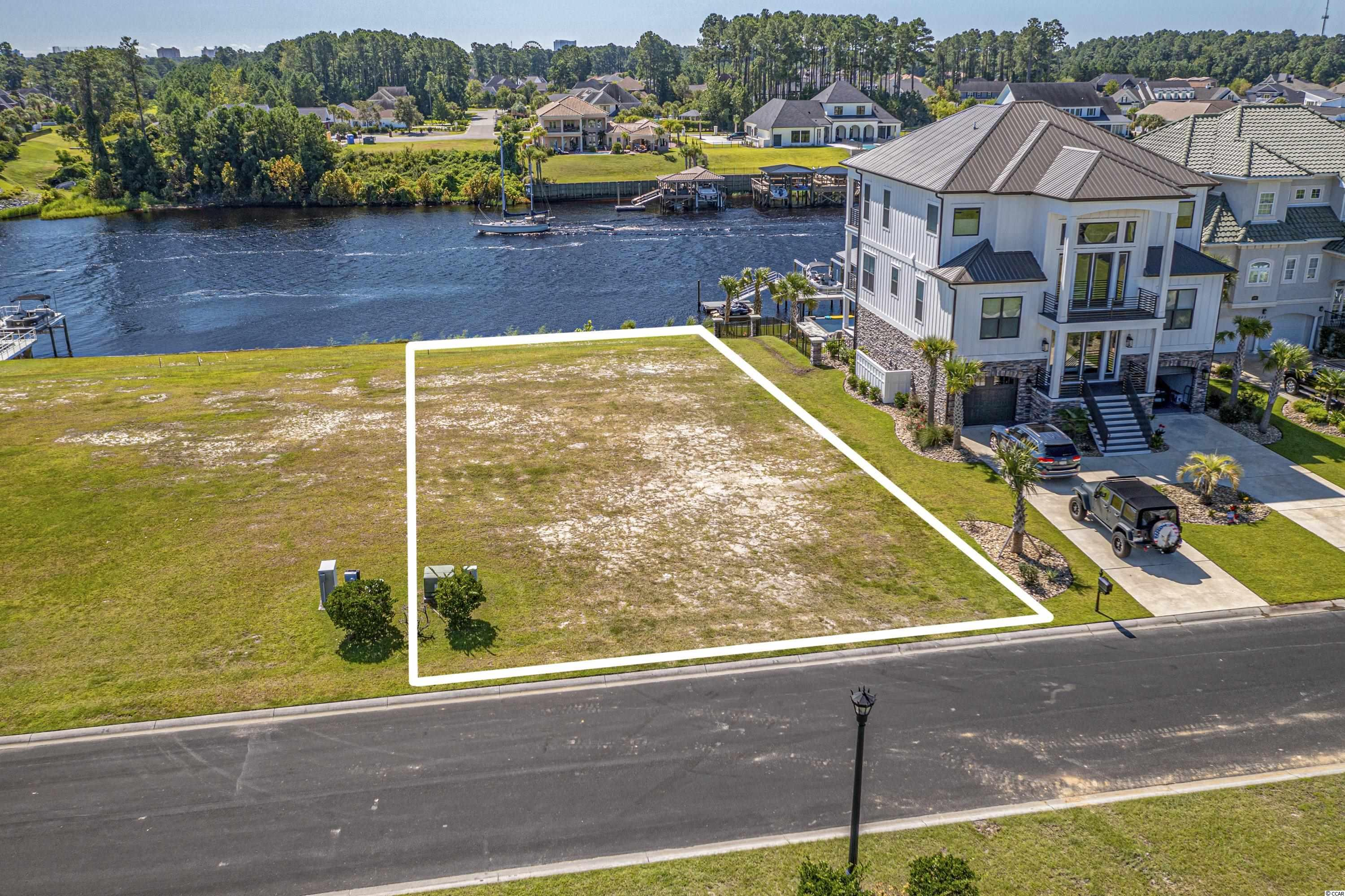 Imagine building your dream home on the Intracoastal Waterway here in exclusive gated community of Carolina Waterway Plantation.This CWP lot boasts 0.28 acres and 60' of waterway frontage. No time-frame to build and choose your own builder. Carolina Waterway Plantation has resort style amenities including furnished clubhouse with kitchen and banquet room, outside grill, pool, playground, gazebo, tennis court, walking trails, boat ramp and storage boats and RV's. Carolina Forest area offers award-winning schools, grocery stores, medical facilities, recreational centers, bike parks and conveniently located minutes from Myrtle Beach and all it has to offer. Don't let this amazing opportunity slip away. Contact the listing agent for more information and set up a viewing.