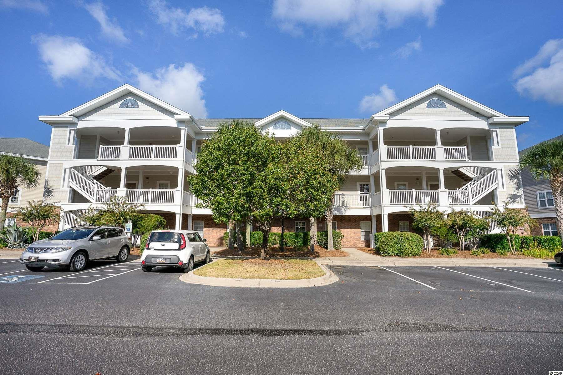 This beautiful, ground floor, fully furnished,  2 bed 2 bath, end unit condo is located in the desirable community of Ironwood at Barefoot Resort! This unit features an open floor plan and great views. Generous sized bedrooms with private full baths, and a private balcony. The kitchen offers ample cabinet & counter space, along with additional seating at the breakfast bar.  The owners and their guests can enjoy a pool, tennis courts, basketball court and volleyball right in the property. Barefoot Resort has many amenities including a Beach Cabana, with private parking & restrooms. Shuttle service to and from the Cabana is provided during the summer months. You will also have access to an Olympic Sized Salt Water Pool that overlooks the Intracoastal Waterway. Conveniently located just minutes from the beach and all the shopping, dining and entertainment that North Myrtle Beach has to offer.  Schedule your showing today!