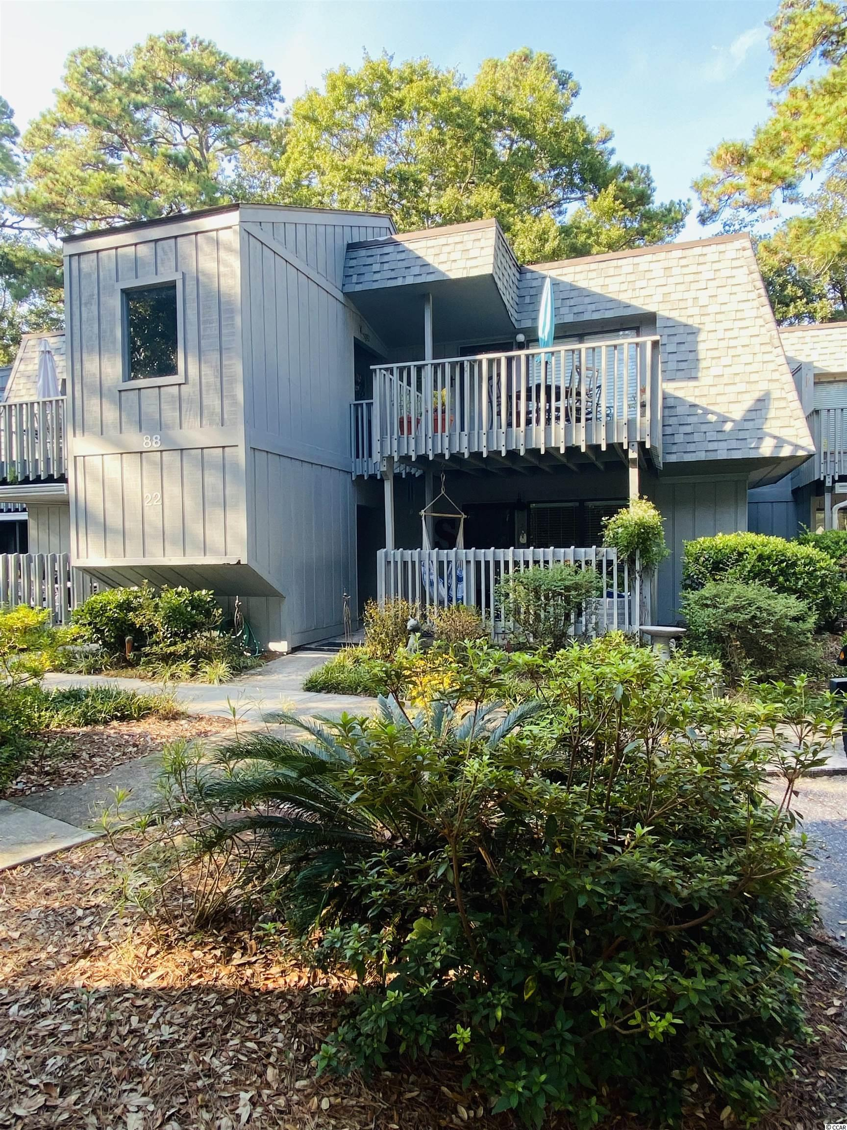 Salt Marsh Cove is a lifestyle!  Nestled amongst oak trees and bordering the spectacular marshes of coastal SC, you are sure to find your happy place.  This first floor 2 bedroom home,  offers the perfect balance of relaxation and functionality. Updated to include newer floors, bathroom vanities,  custom shower, and paint will have you enjoying this home from Day 1!  Outside of the condo itself, you will find yourself tickled to enjoy several  neighborhood amenities to include a community dock overlooking the marsh and all of its wildlife, large swimming pool, club house, pond with fountain and picnic area.  The location itself will have you to the pristine Pawleys Island/Litchfield beaches in minutes.  One drive into this neighborhood show will show you instantly why its been a favorite for full and part time residents for years.  Put this one on your list to show today!! Co-Listing agent is related to the seller