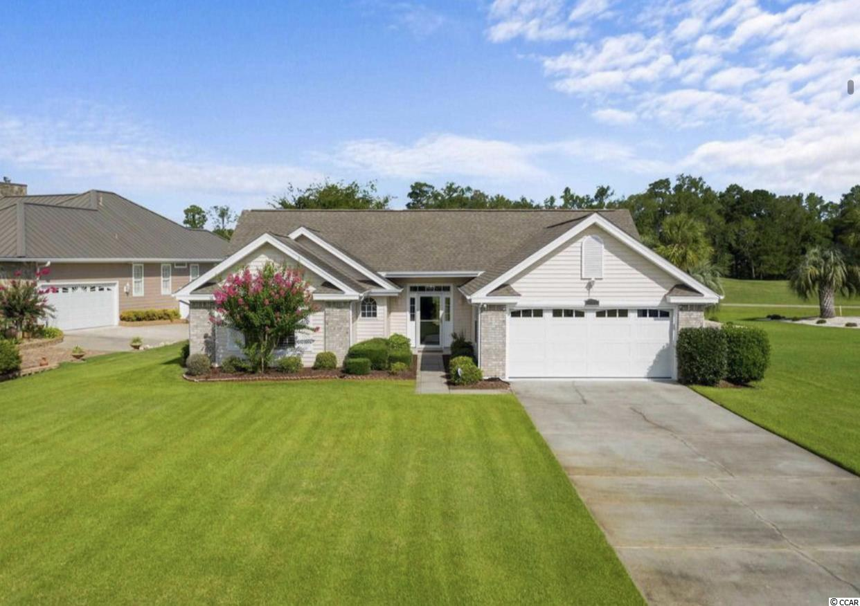 Rent Monthly or Yearly, Gorgeous Golf front and view home located in peaceful Aberdeen Community with community pool only 15 minutes to North Myrtle Beach. Open your front door and look right out to this beautiful golf course and trees on the other side.  Enjoy the oversize deck that allows for an expansive view of the golf course! This Executive 3 beds 2 bath 2 car garage comes fully furnished and has never been rented before.  The owner has equip the home with everything you need, Just bring your suitcases! Fully furnished and fully stocked including dishes, towels, sheets, blankets and so much more. Stainless appliances and wine refrigerator. All utilities are included, Electric, water, sewer, cable tv, Wifi and lawn service! One bedroom has a very unique murphy bed the doubles as a desk if you want an office that doubles as a bedroom. Oh and it has a onsite printer!  Offered Month to month with discounts for leases of 6, 9 & 12 months. Year round rental so you will not need to move out during the peak season Pets on approval.  Month to Month, Annual Lease and even Weekly can be available on this one. Available end of October