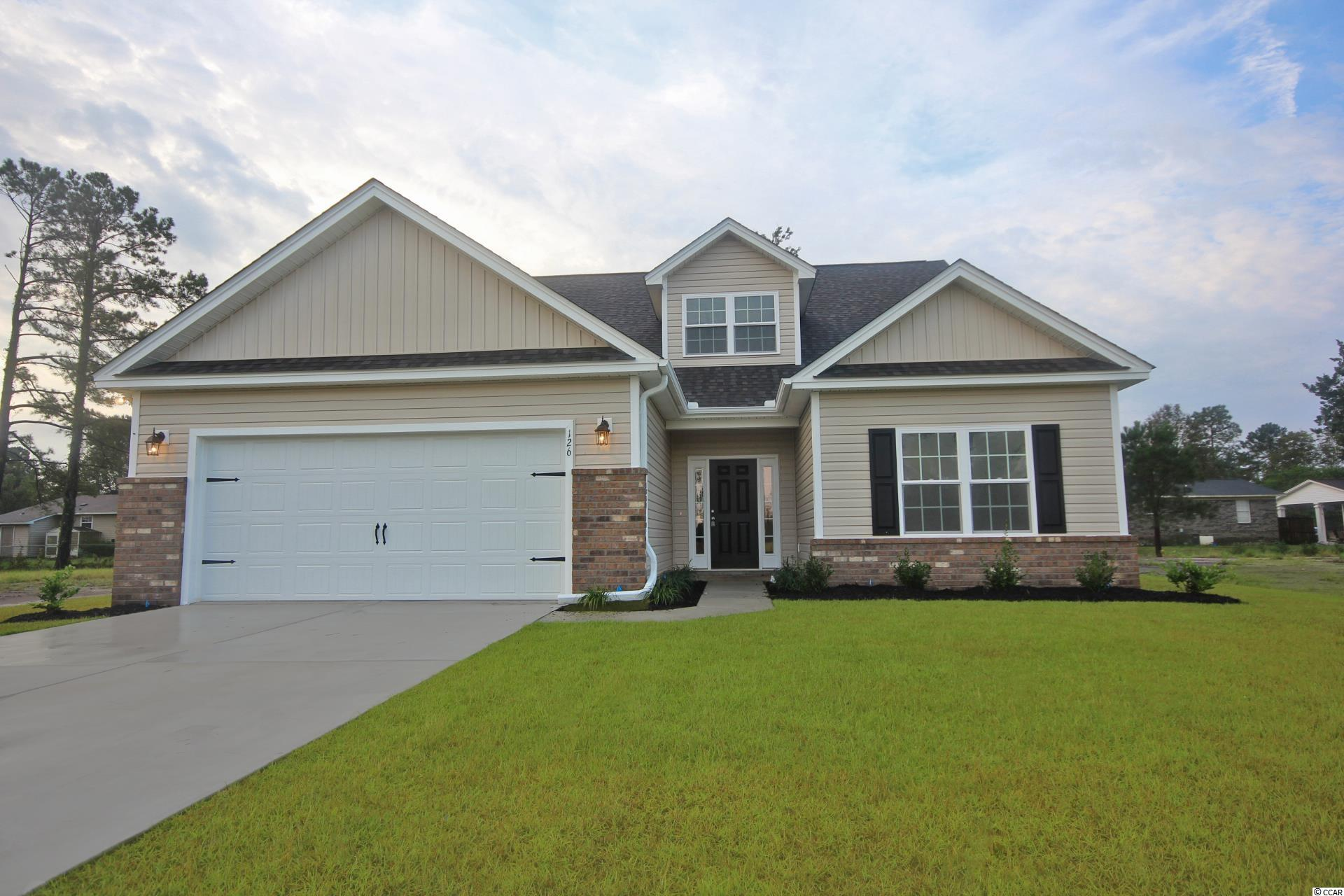 This NEW Abaco model has it all! 3 Bedroom 2 Bathroom with and a 2 Car Garage. at 1625 +/- This Open concept home with a modern design Sits on a spacious lot. The floor plan features lots of windows and 9ft. ceilings With vaults allowing natural light to flow in. The living and dining rooms are adjacent to the kitchen which makes entertaining easy and effortless. This Kitchen includes Quartz countertops, Benton white painted cabinets, and stainless appliances. Come see all the insightful features designed with you and your lifestyle in mind including a split bedroom layout. Pictures are of a similar home and are for illustration purposes only. This is a To Be Built Home. Upgrades and Lot Premium Not Included in the Listing Price.